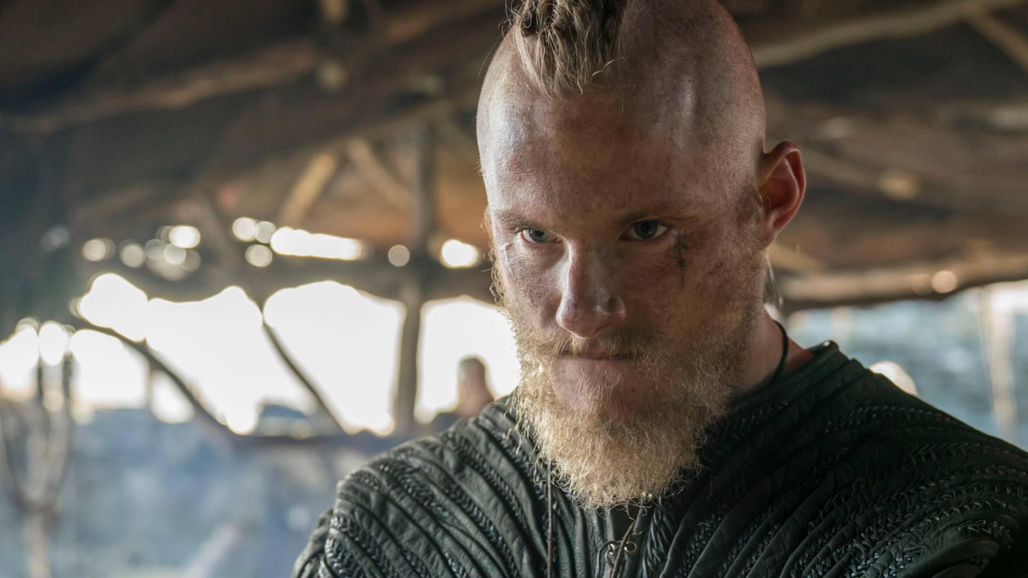 Alexander Ludwig als Bjorn Eisenseite in Vikings