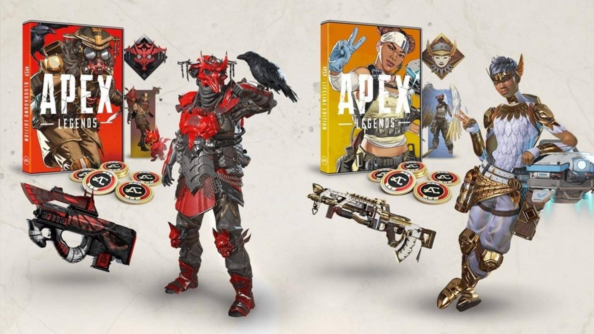 """""""Apex Legends"""" kommt als Box-Version in zwei Ausführungen."""