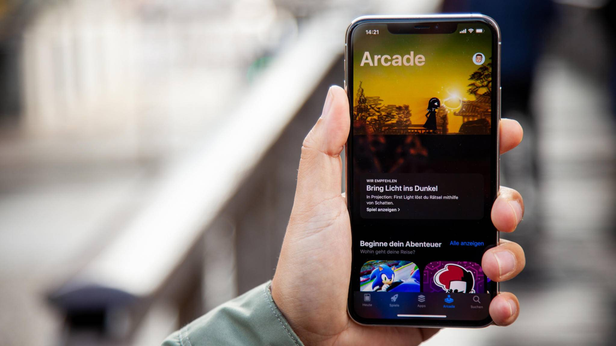 Die Apple Arcade lohnt sich auch für Spieleentwickler.