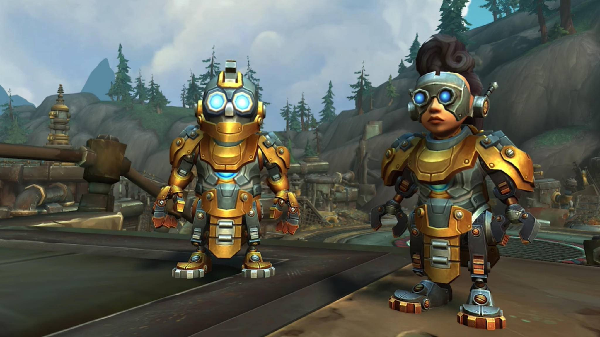 Mechagnome World of Warcraft