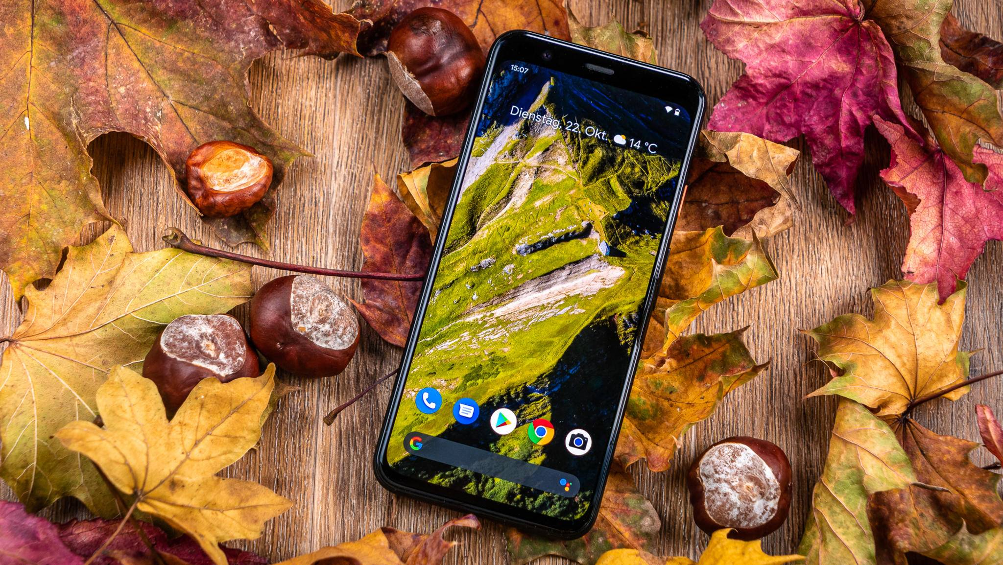 Smartphones wie das Google Pixel 4 bieten satten Stereosound.