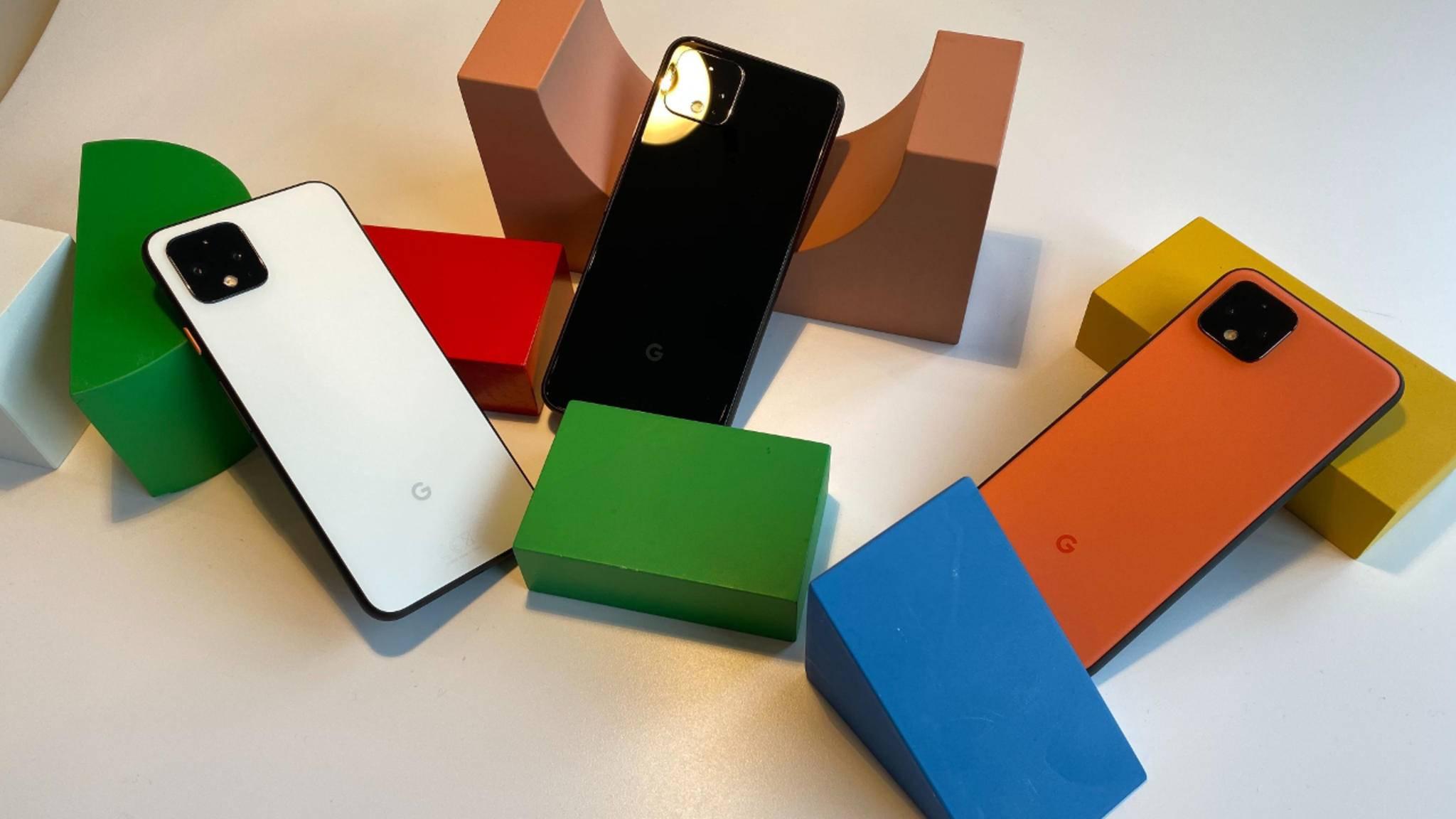 Google Pixel 4 und Pixel 4 XL sind da! Das können die neuen Topmodelle