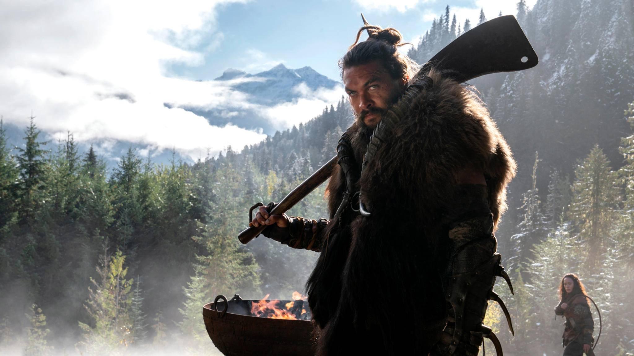 "Jason Momoa als Krieger Baba Voss in der Apple-Serie ""See"""