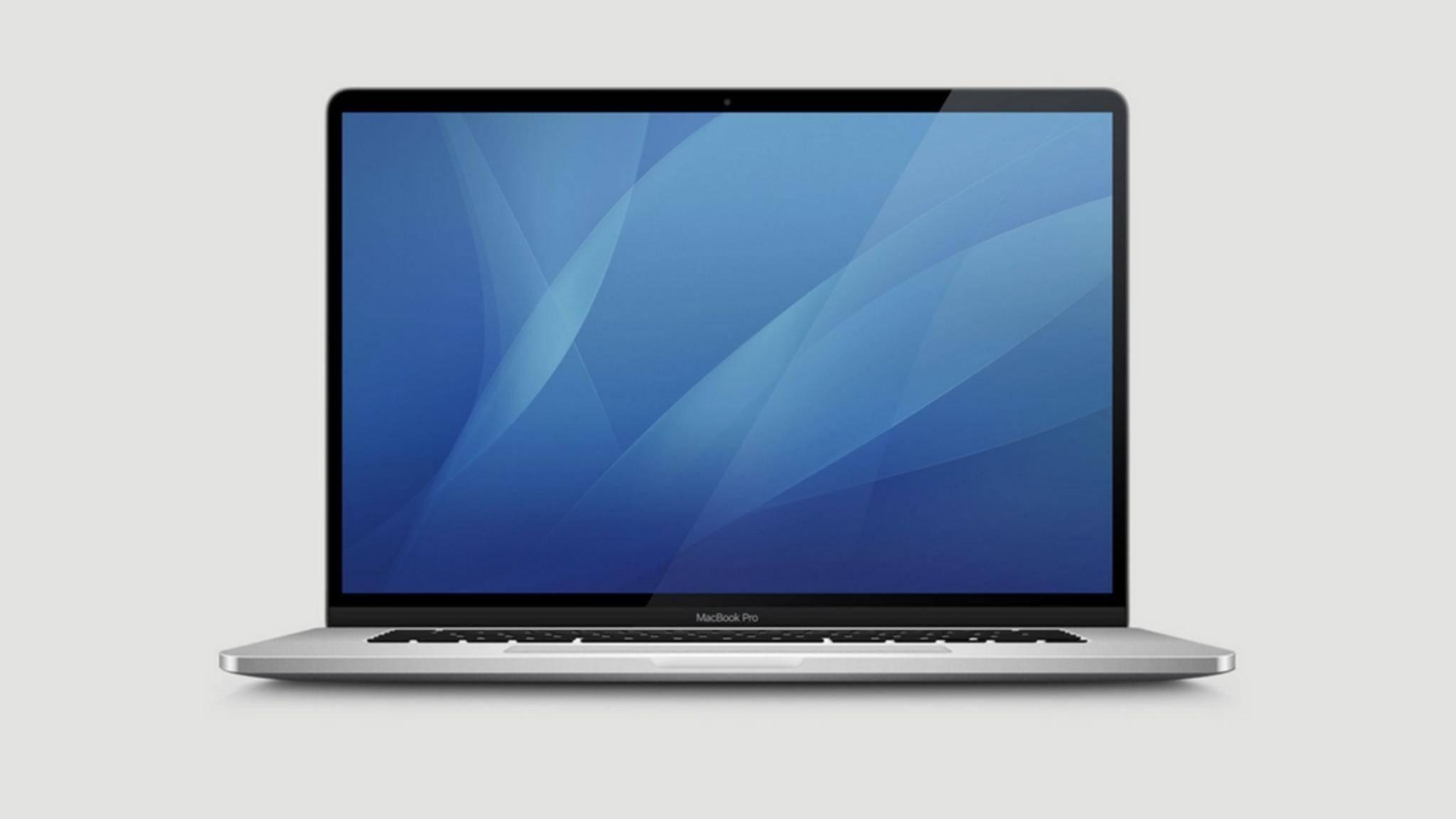Sieht so das neue 16-Zoll-MacBook aus?