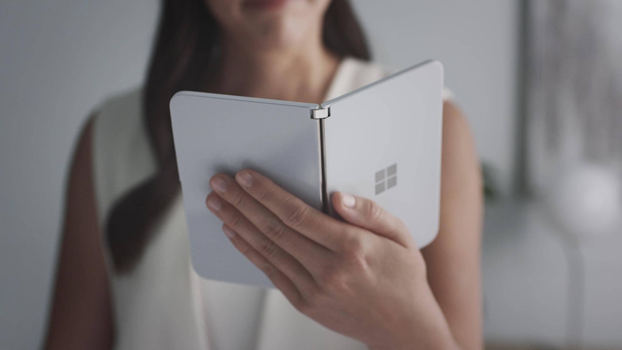 Das Surface Duo könnte eine neue Art von App-Multitasking erlauben.