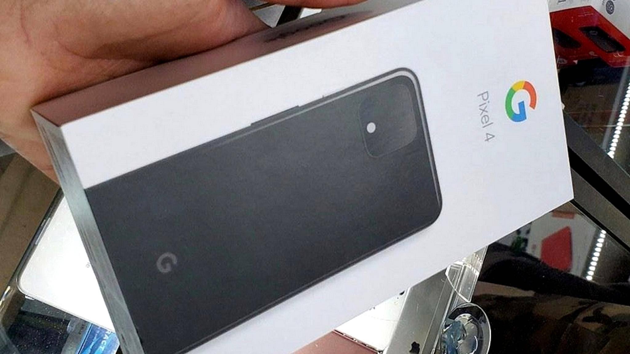 Auch die Verpackung des Pixel 4 ist mittlerweile im Netz aufgetaucht.