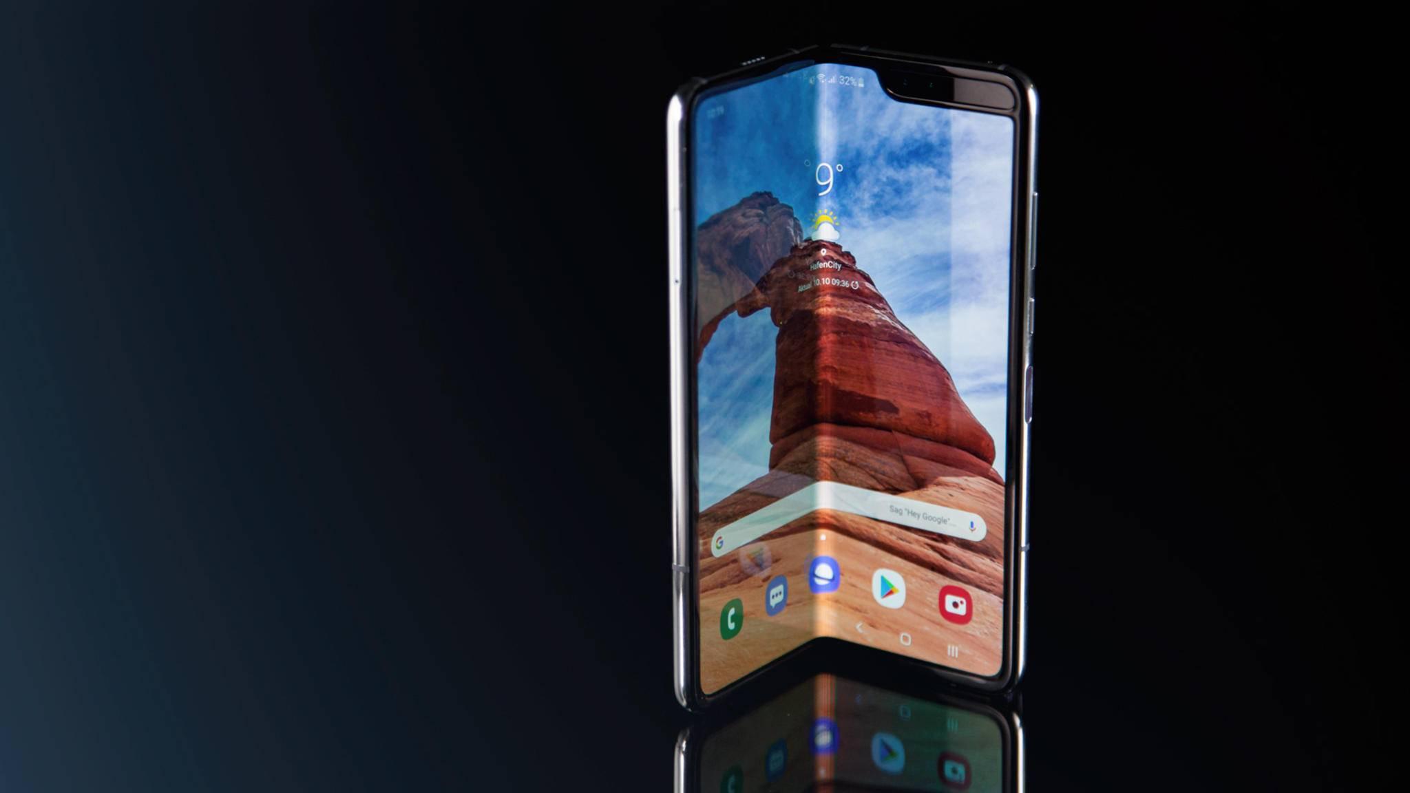 Das Samsung Galaxy Fold ist das erste faltbare Smartphone auf dem Markt.