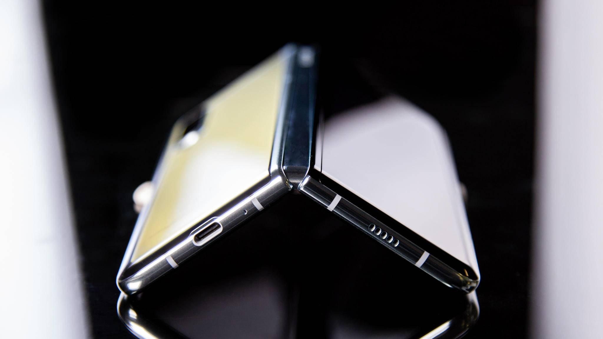 Wie könnte der Nachfolger des Galaxy Fold (im Bild) aussehen?