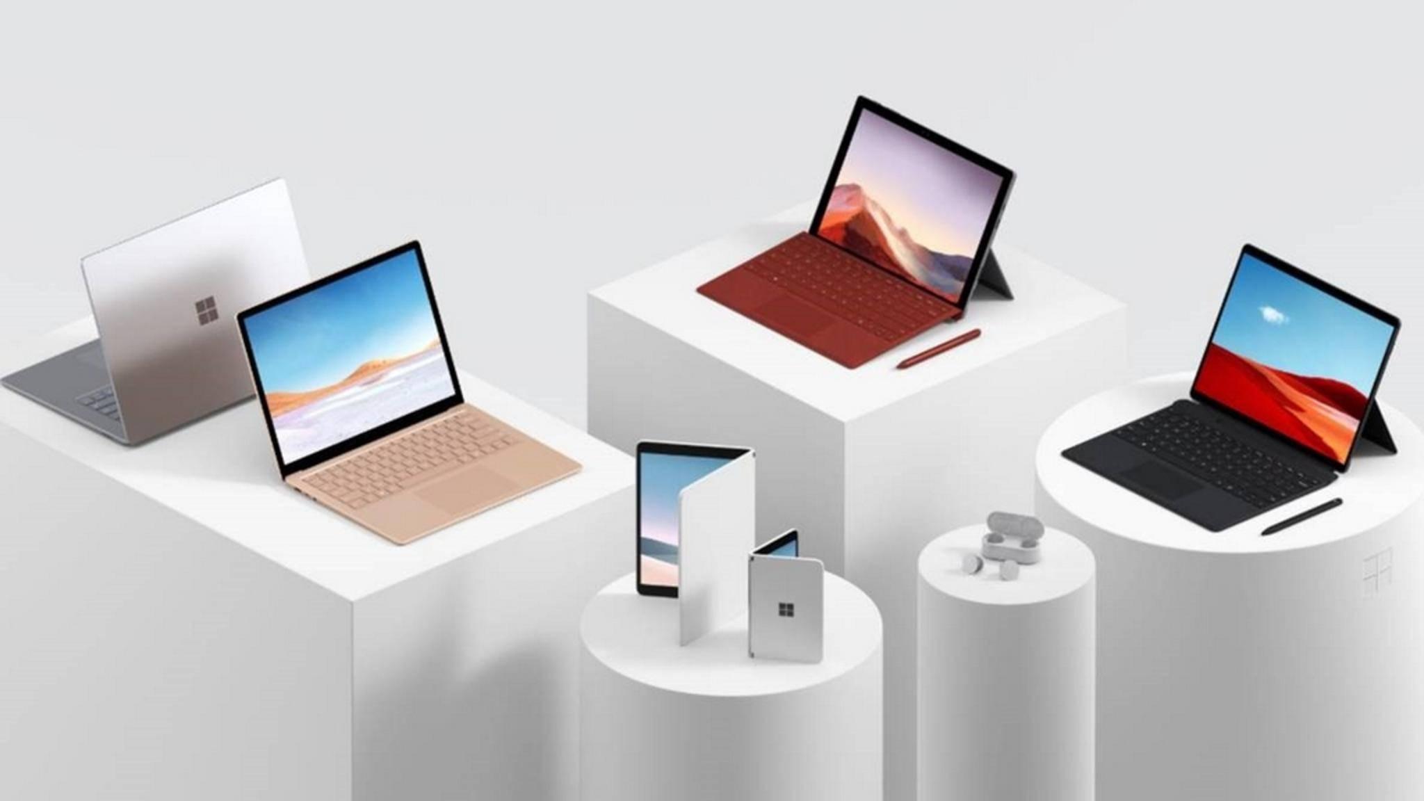 Das Surface-Lineup von Microsoft wächst und wächst.
