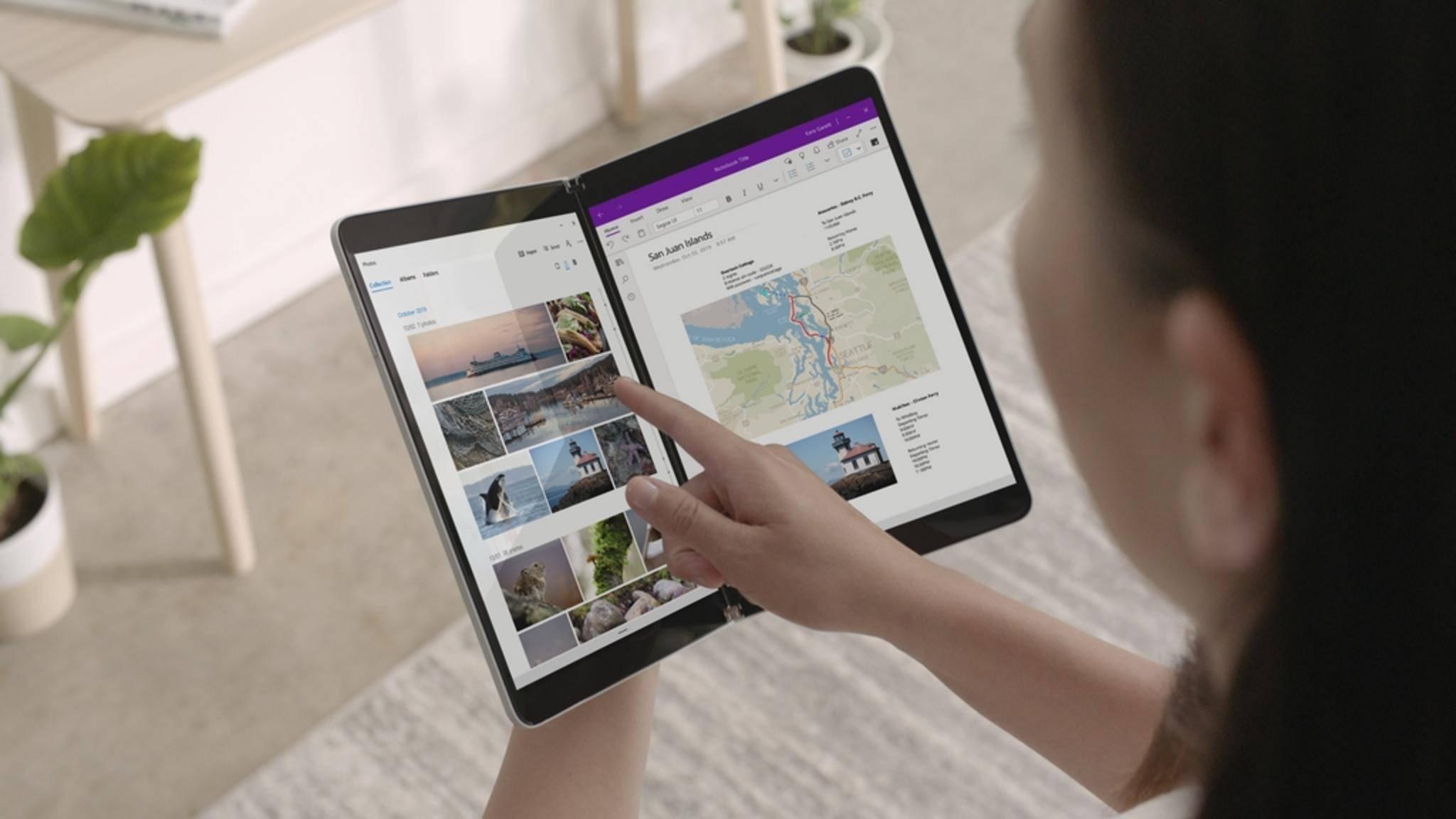Mit dem Surface Neo hat Microsoft ein völlig neuartiges Gerät gezeigt.