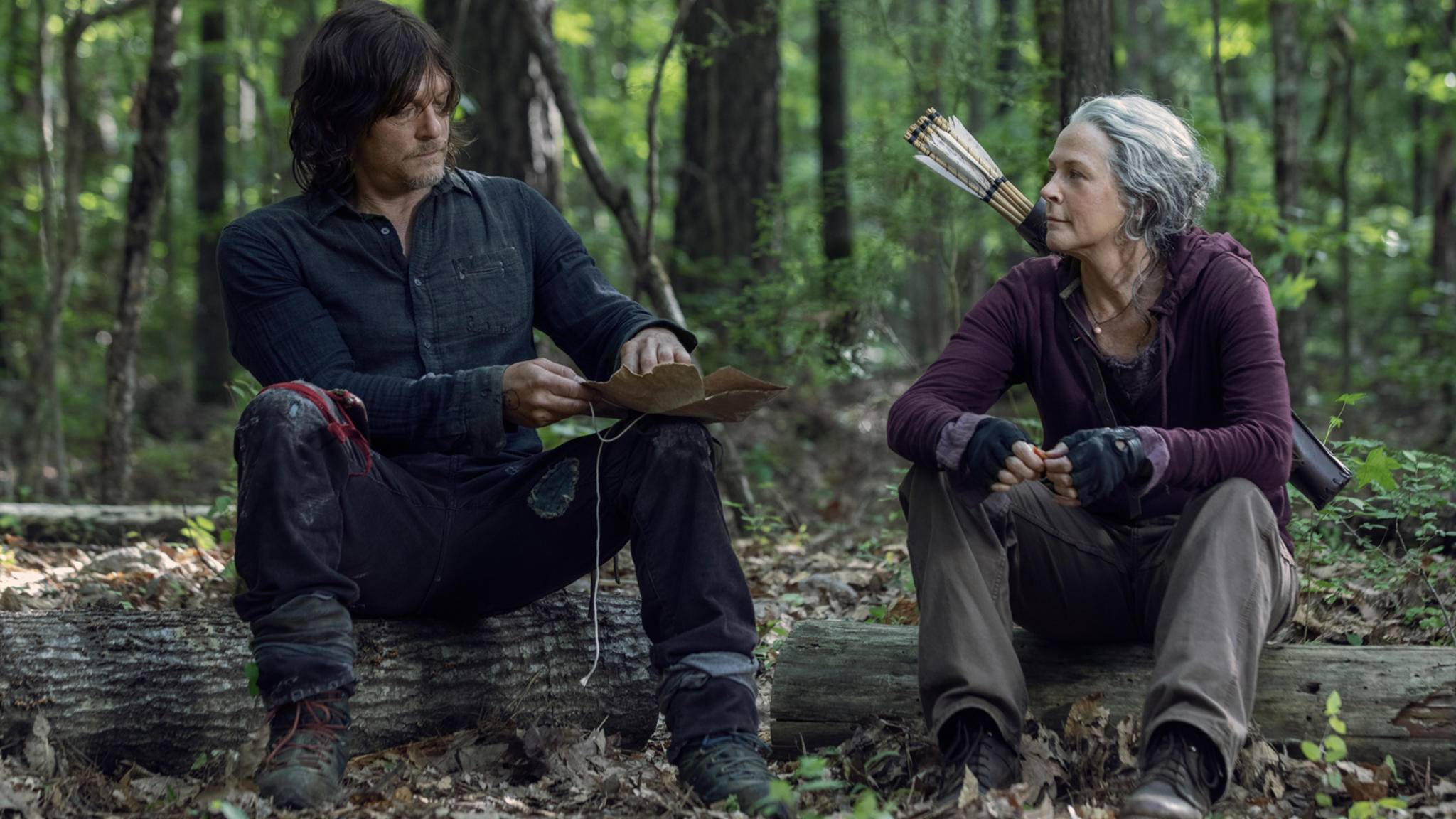 The Walking Dead-S10E01-Daryl-Carol-Jackson Lee Davis-AMC