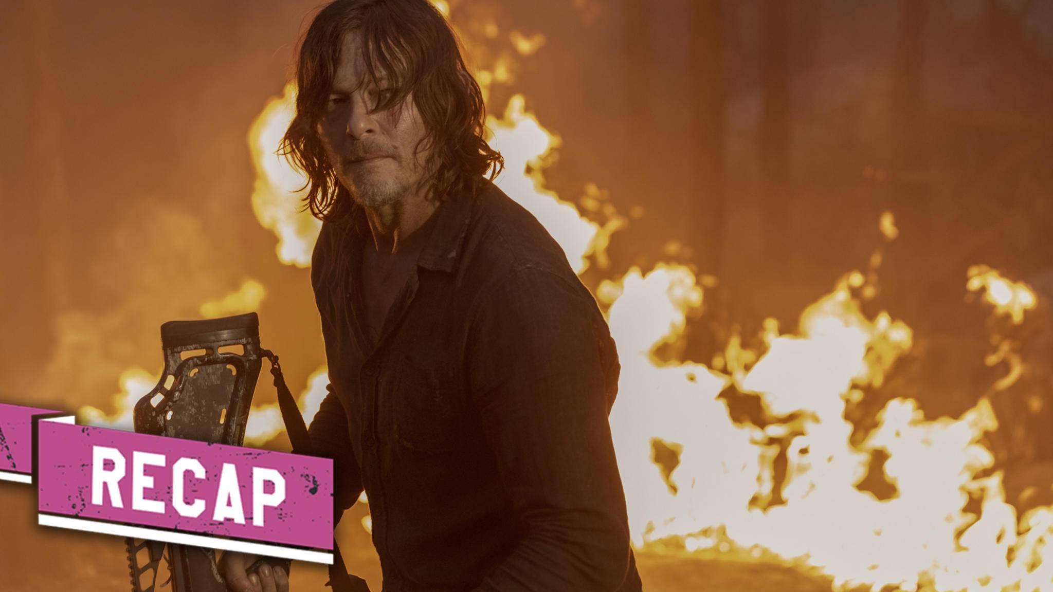 The Walking Dead Staffel 10 Episode 1 Review: Ein feuriger Start für Staffel 10
