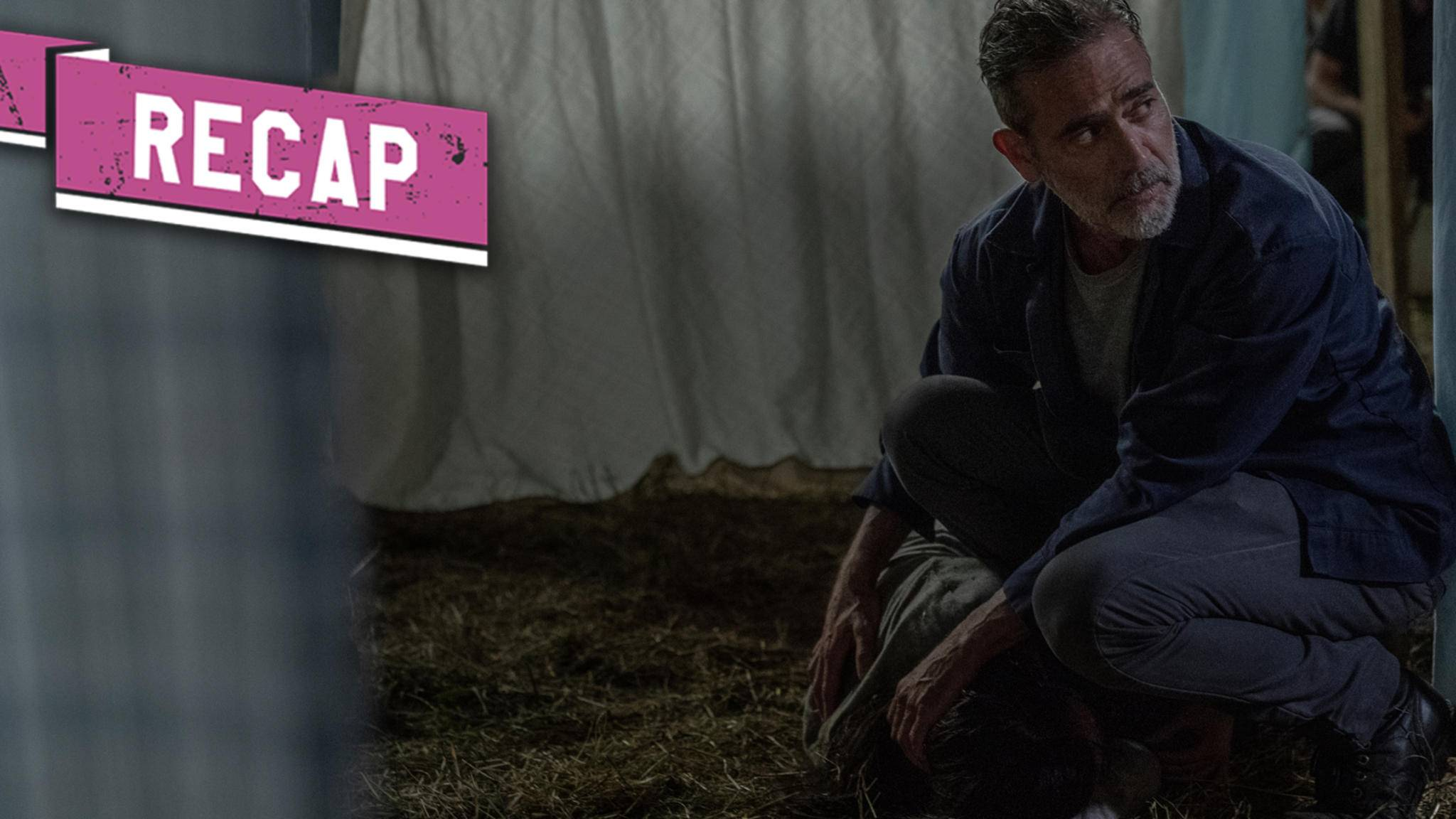 The Walking Dead-S10E04-Negan-Lydia-Eliza Morse-AMC-Teaserbild