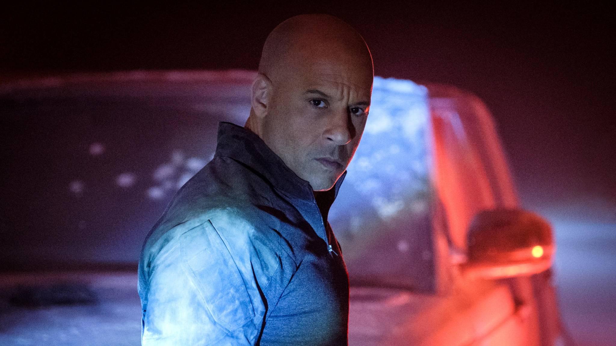 Vin Diesel als Ray Garrison alias Bloodshot in der gleichnamigen Comicverfilmung