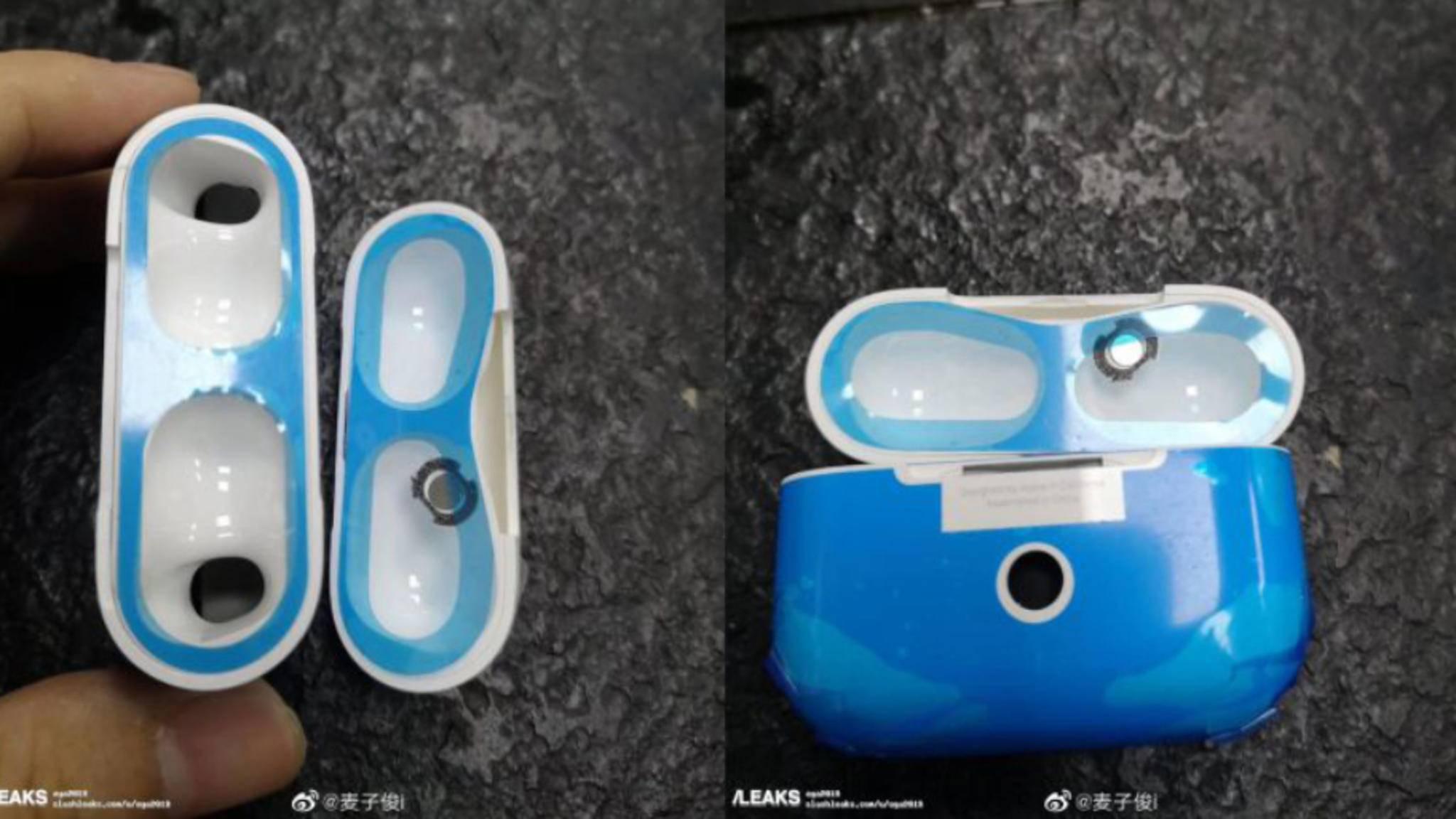 Zeigen diese Bilder das Ladecase der neuen AirPods Pro?