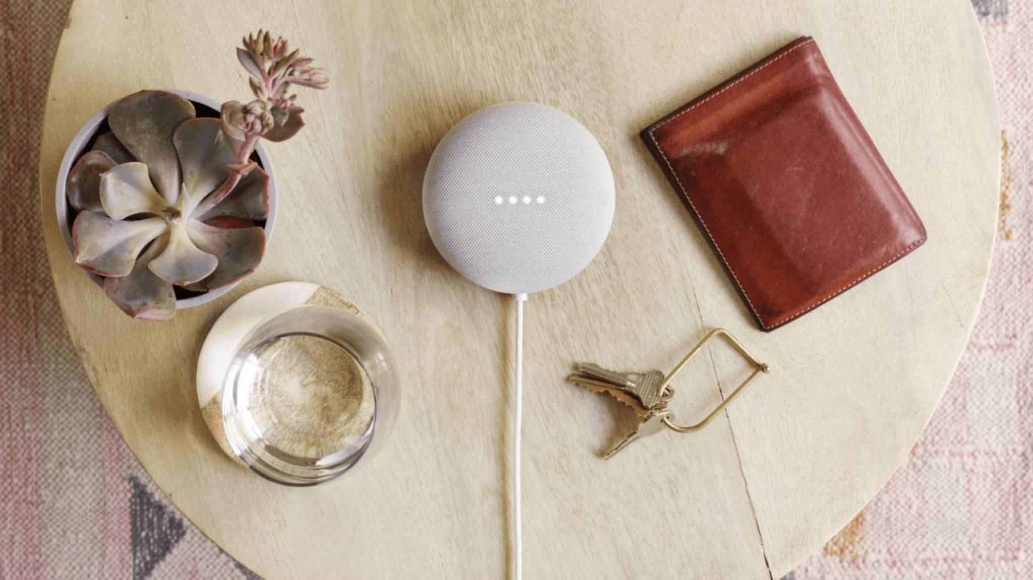 Google Nest Mini: Nachfolger des Google Home Mini vorgestellt