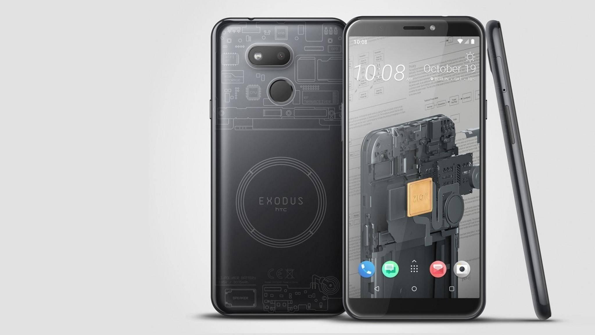 HTC Exodus 1s Krypto-Phone