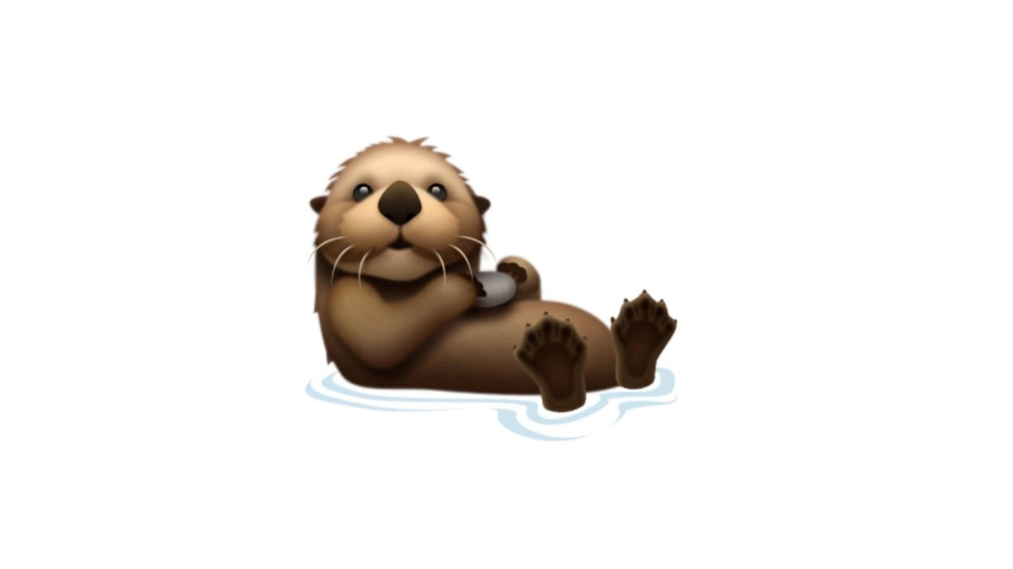 iOS 13 Emojis Otter