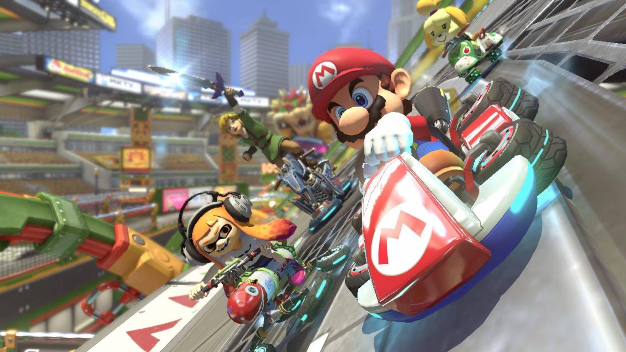 """So langsam könnte """"Mario Kart 9"""" mal erscheinen."""