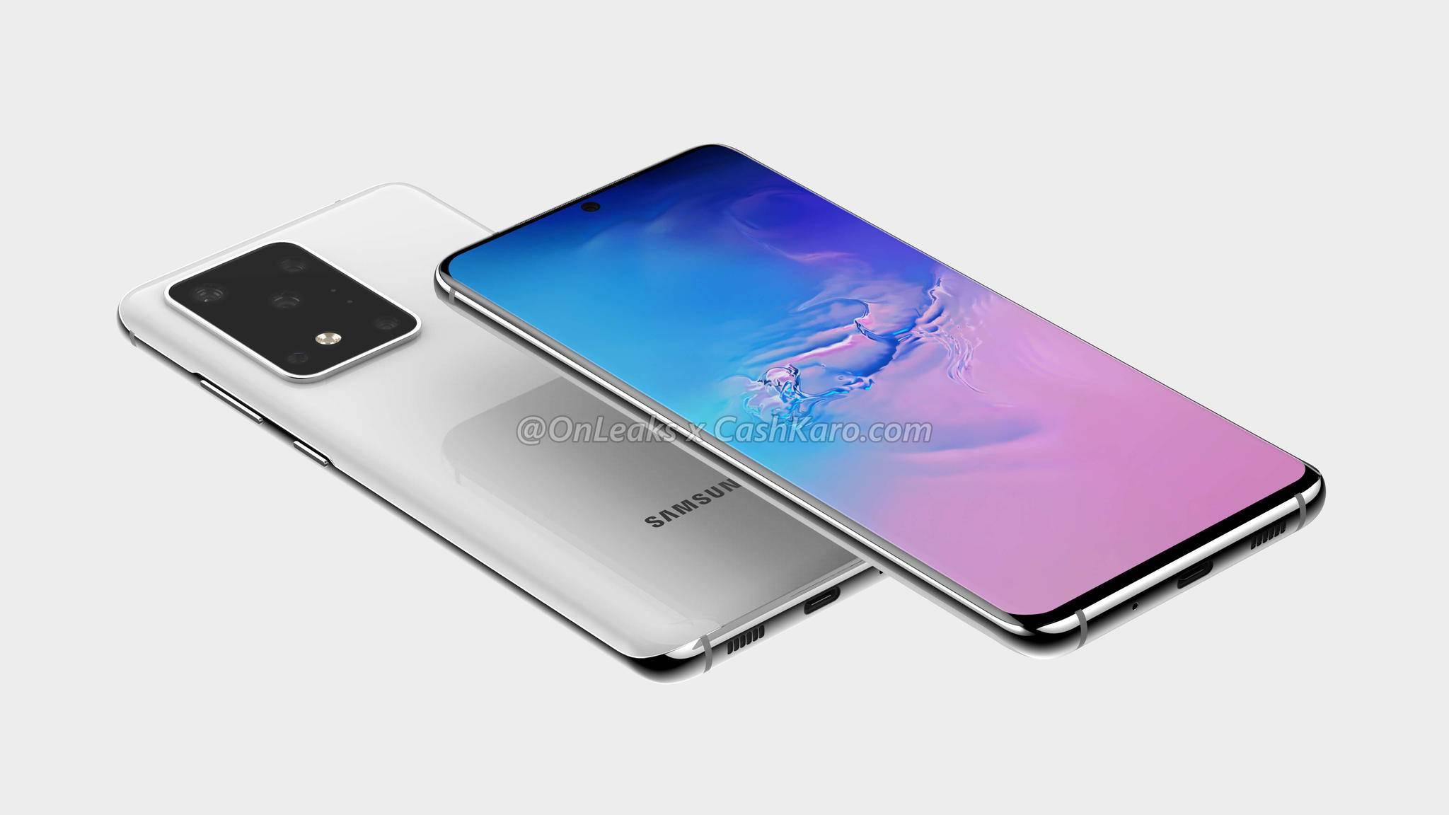 In einem Online-Shop sind offizielle Hüllen für Samsungs Galaxy-S20-Reihe aufgetaucht.