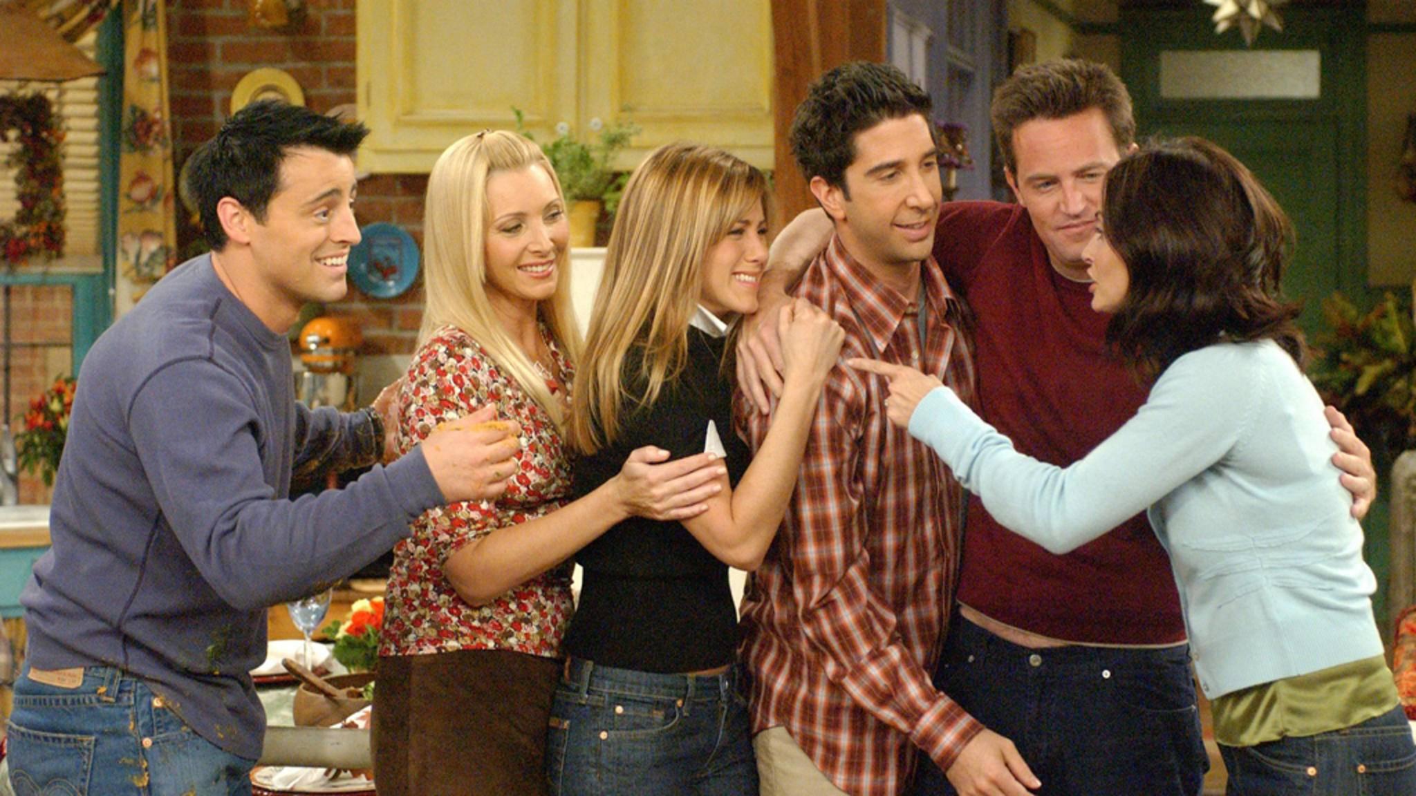 Szenenbild aus der Serie Friends Reunion