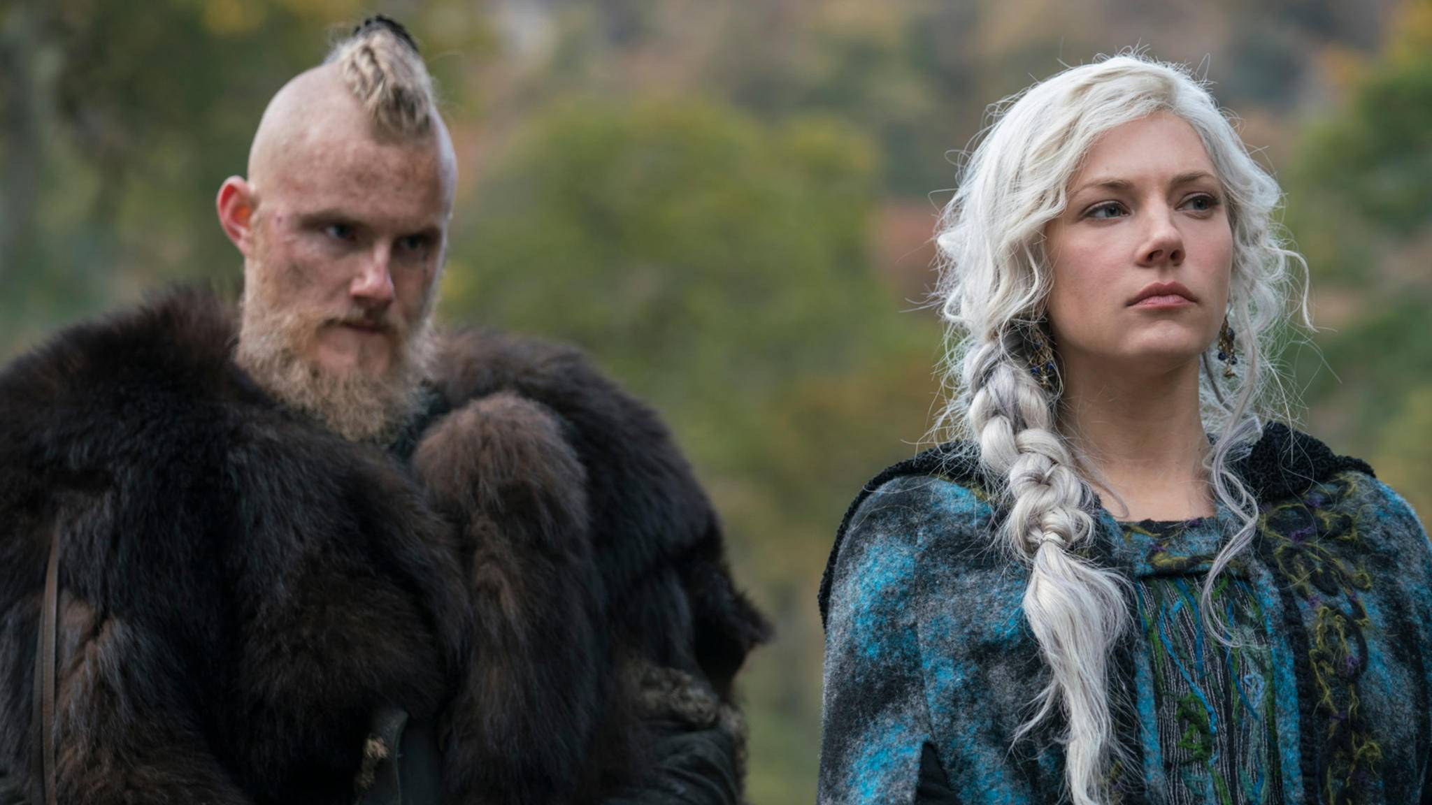 Vikings Bjorn und Lagertha in Staffel 5 Part 2