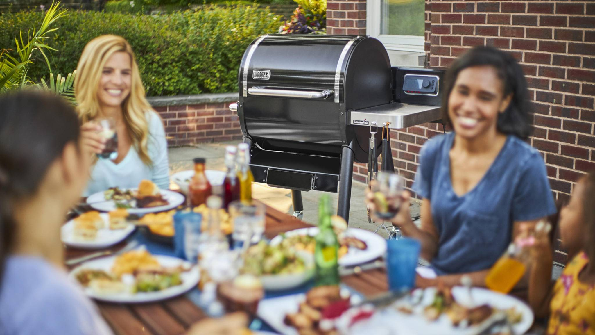 Weber SmokeFire Grill