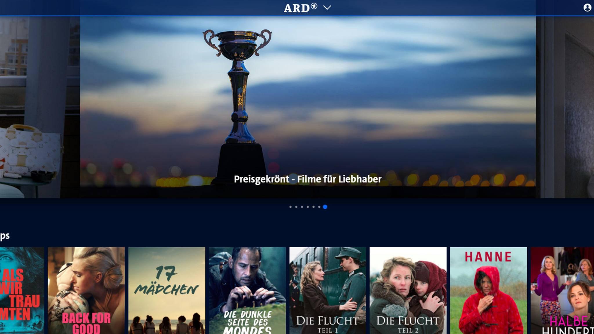 Bald weniger Videorekorder und mehr wie Netflix: die ARD Mediathek.
