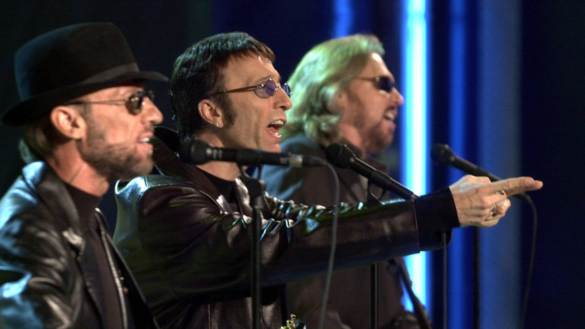 Bee Gees Auftritt Bühne