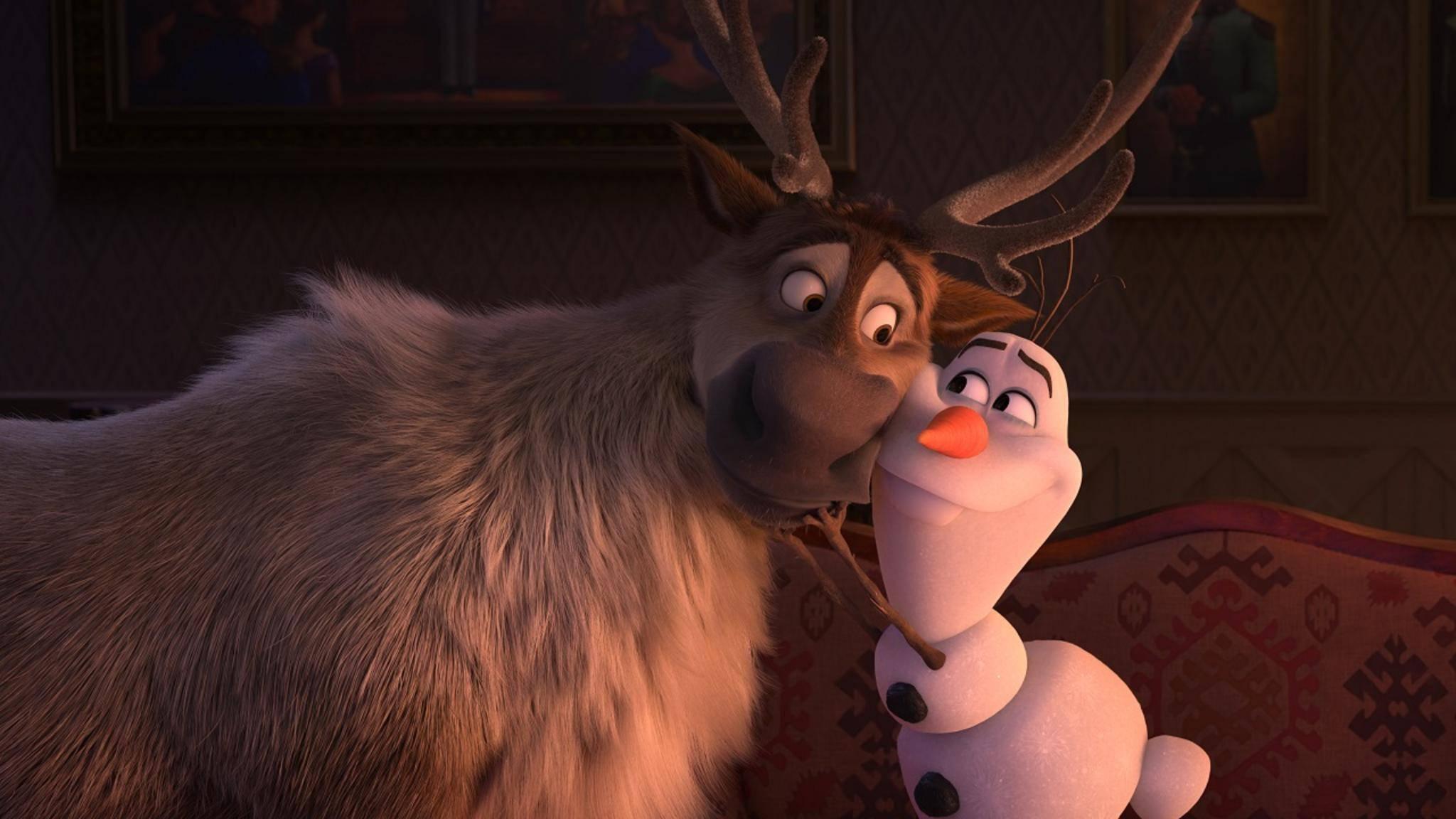Die Eiskönigin 2 Sven und Olaf