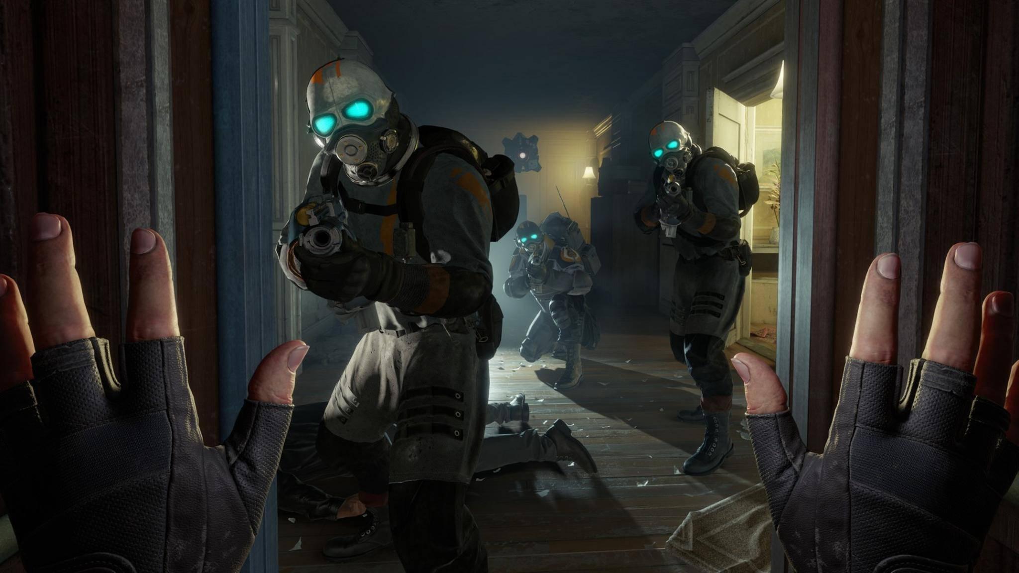 """Wir erklären, was für ein VR-Headset Du für """"Half-Life: Alyx"""" benötigst."""