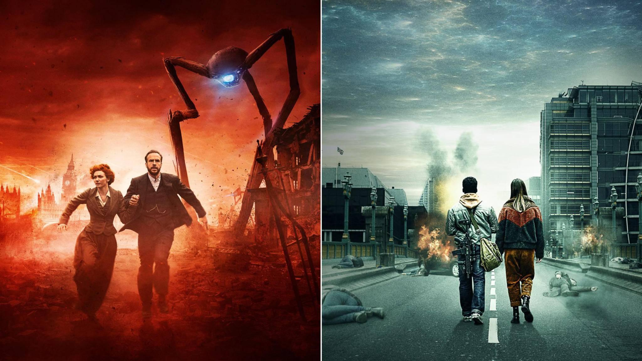 """Die Aliens greifen an – """"Der Krieg der Welten"""" bricht in zweifacher Seriengestalt aus."""