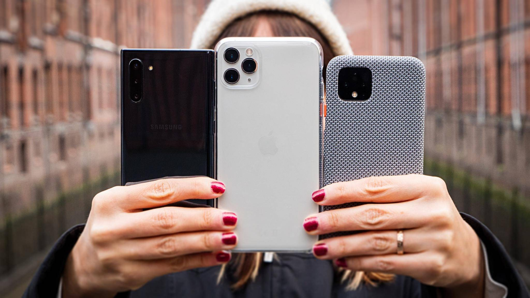 Smartphones-Kameras im Vergleich
