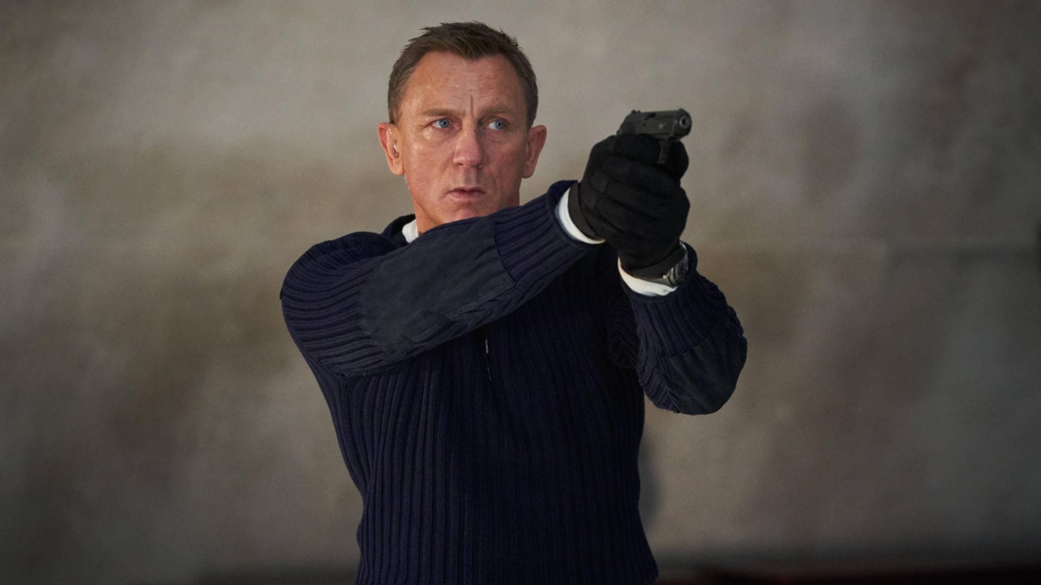 Daniel Craig in James Bond Keine Zeit zu sterben Szenenbild 1