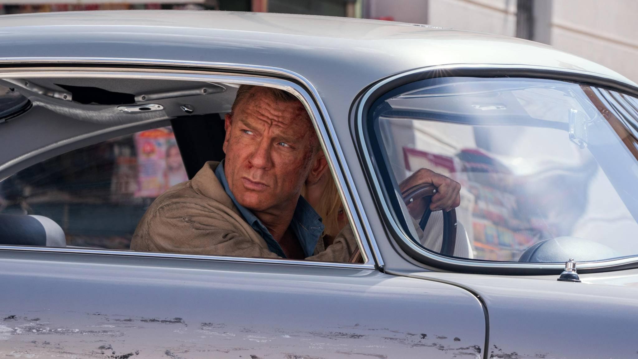 Daniel Craig in James Bond Keine Zeit zu sterben Szenenbild 2