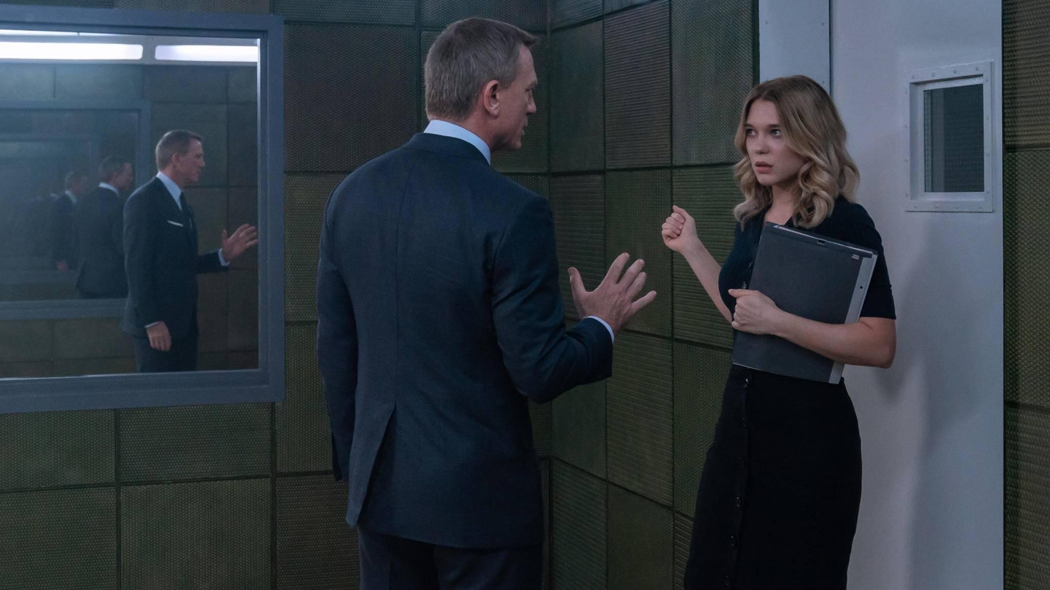 Daniel Craig und Lea Seydoux in James Bond Keine Zeit zu sterben
