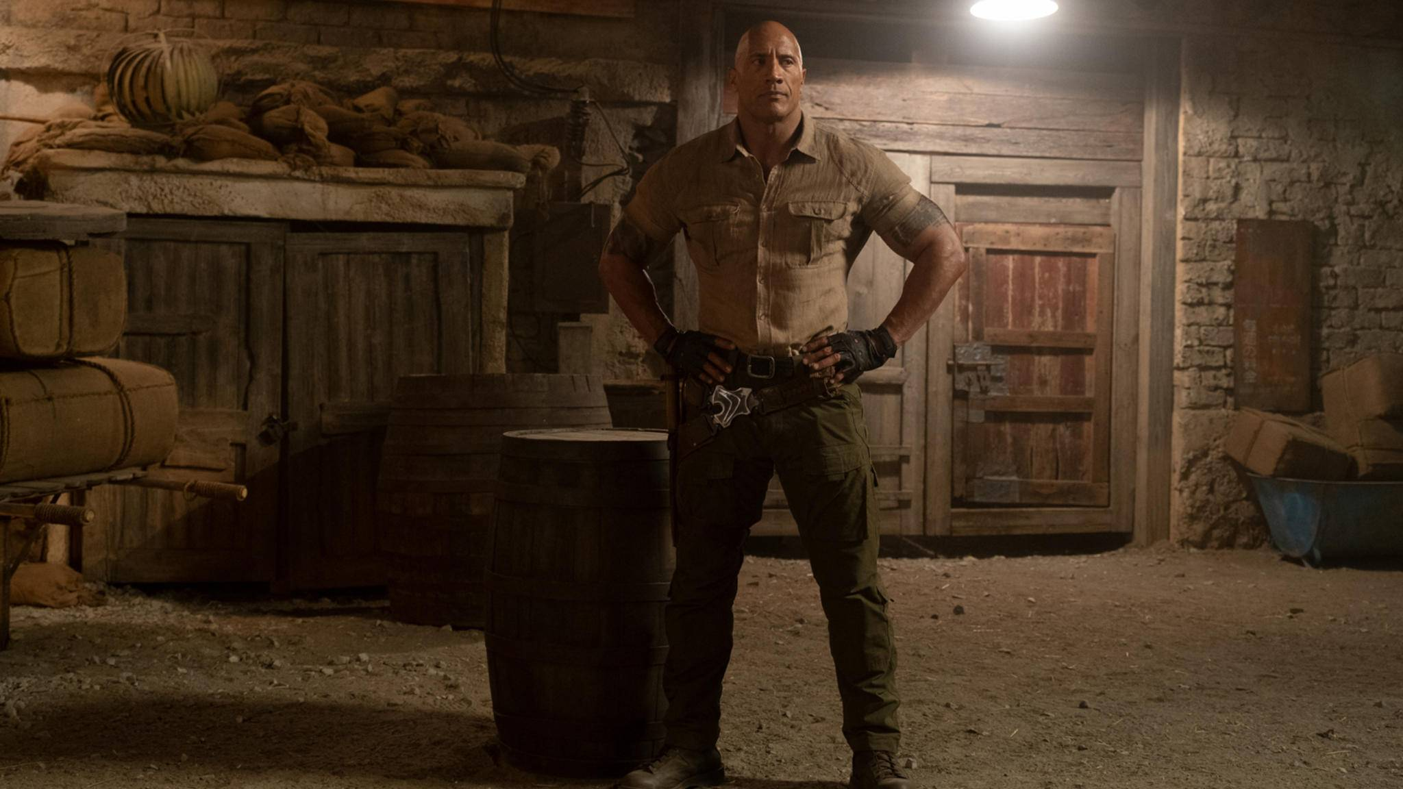 Dwayne Johnson in Jumanji: The Next Level