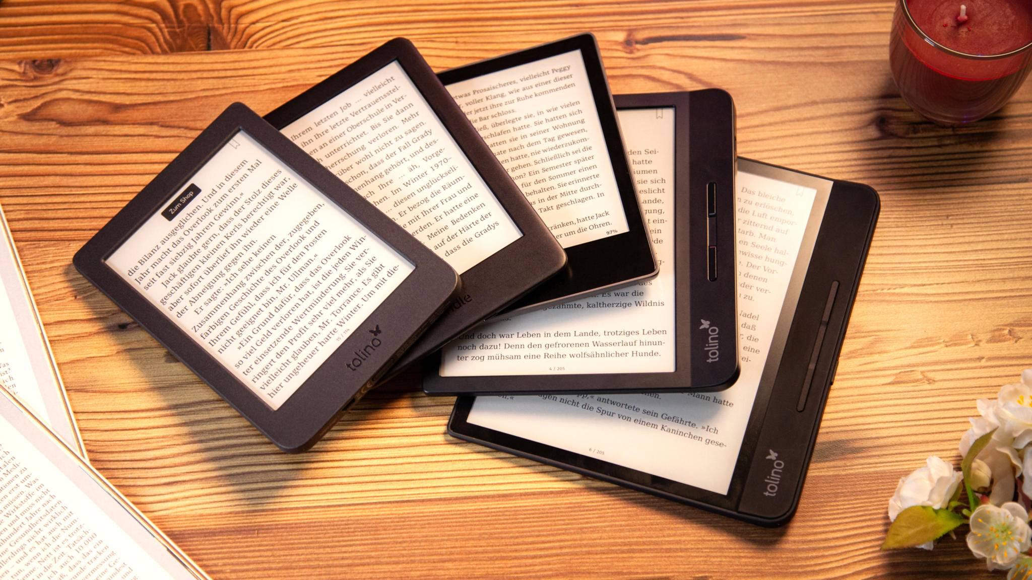 E-Book-Reader Vergleichstest