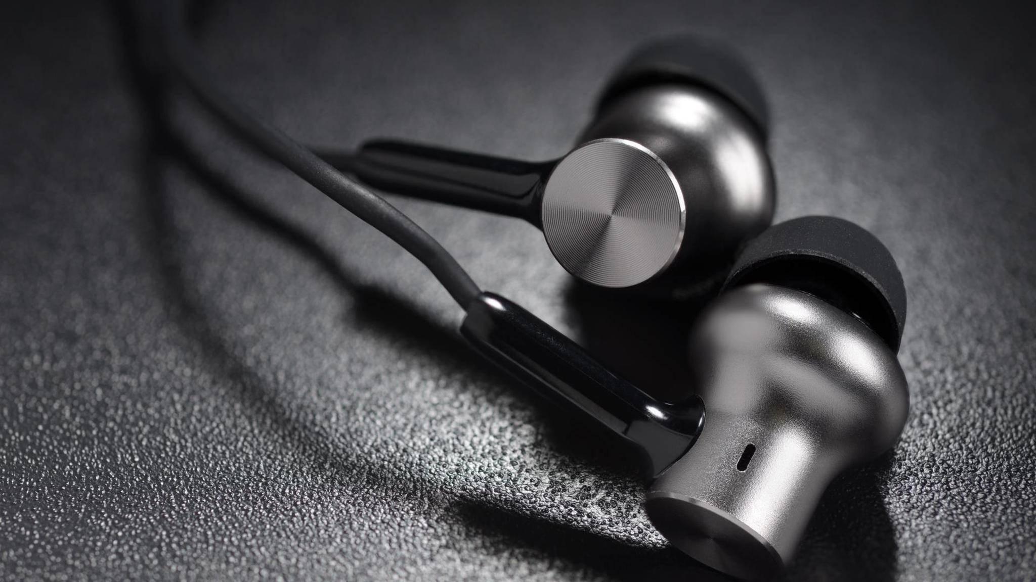 Metallic ear buds