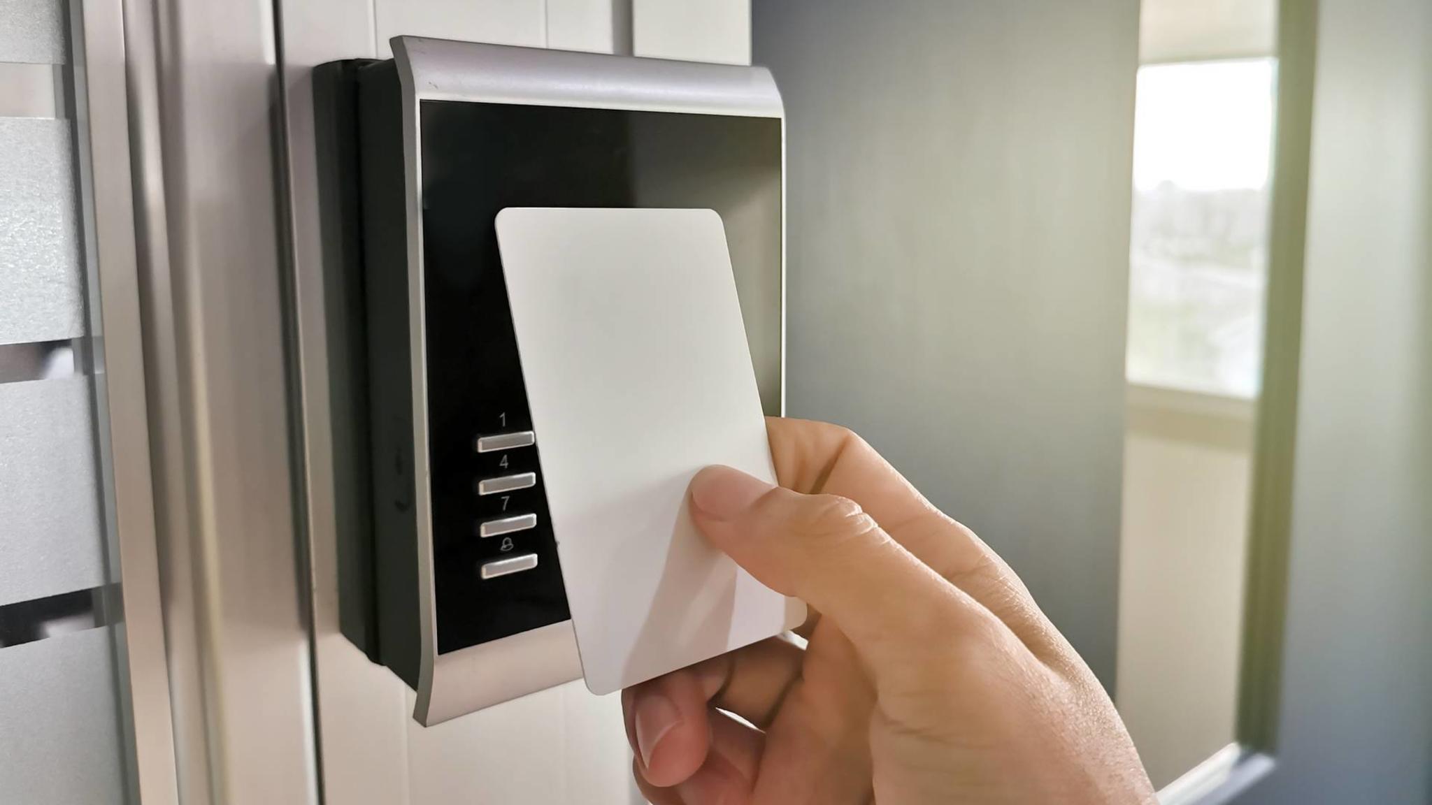 RFID kommt unter anderem in Schlüsselkarten zum Einsatz.