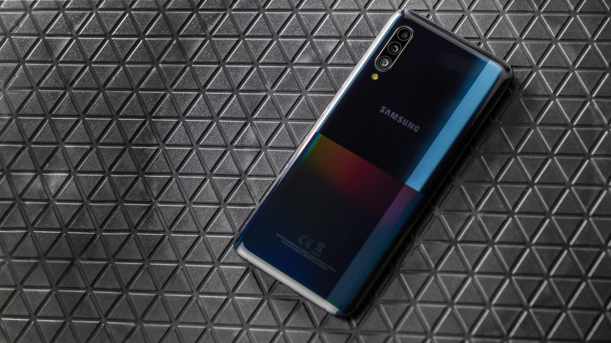 Das Samsung Galaxy A90 5G ist eins der günstigeren 5G-Telefone.