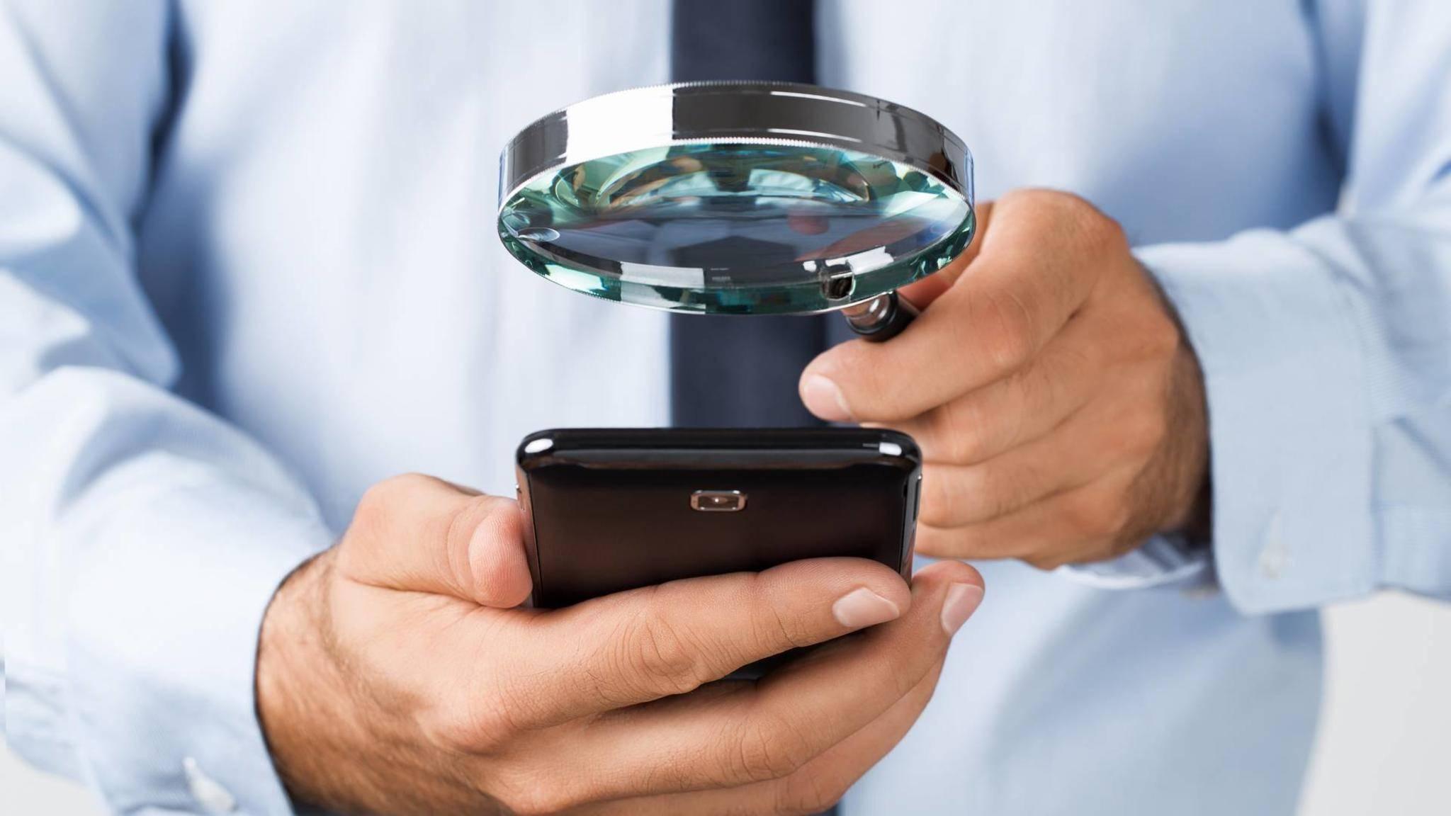 Den Bildschirminhalt auf PC und Smartphone kannst Du auch ohne Lupe vergrößern.