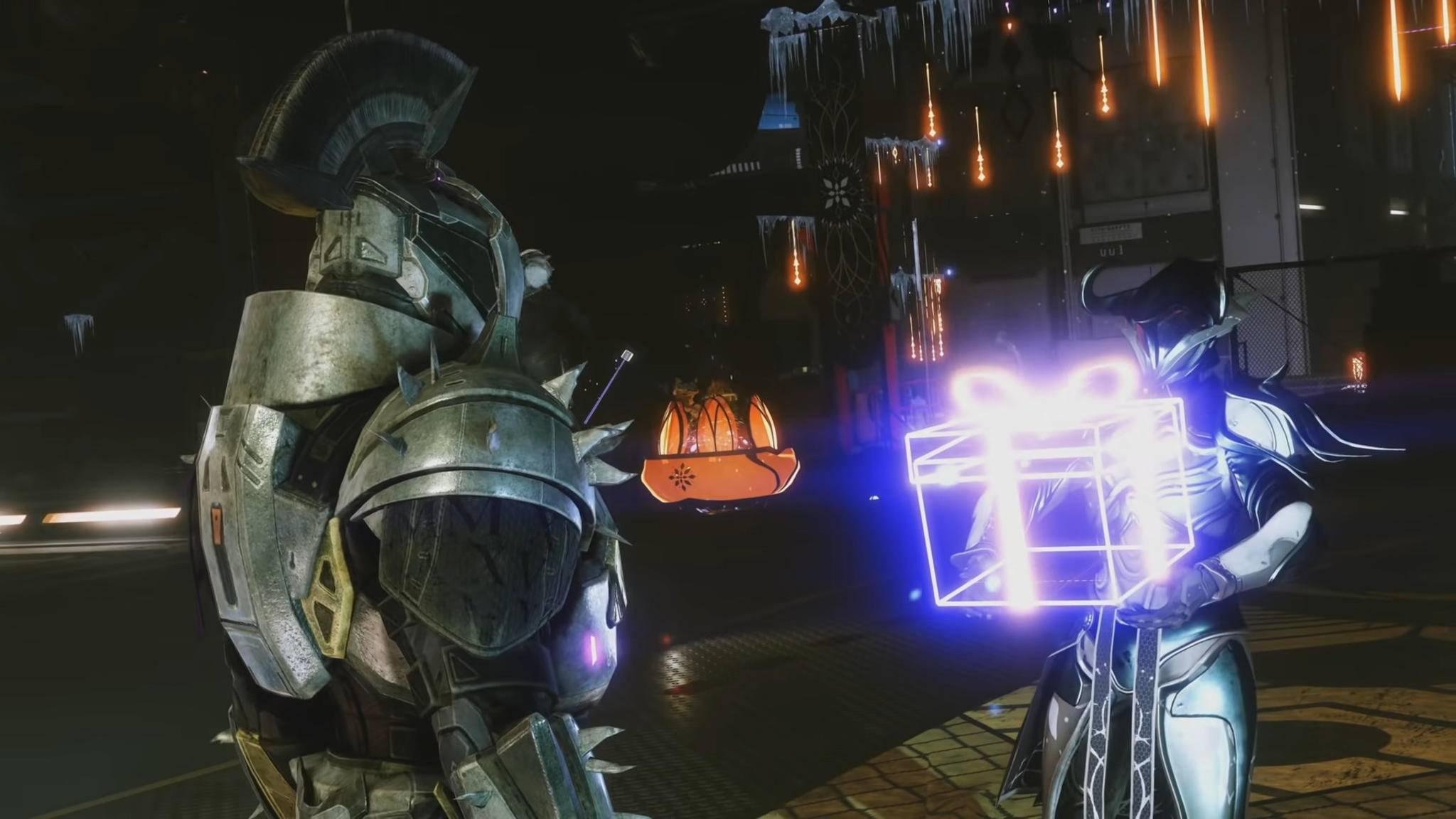"""Geschenke! """"Destiny 2"""" wird zum Jahresende spendabel."""