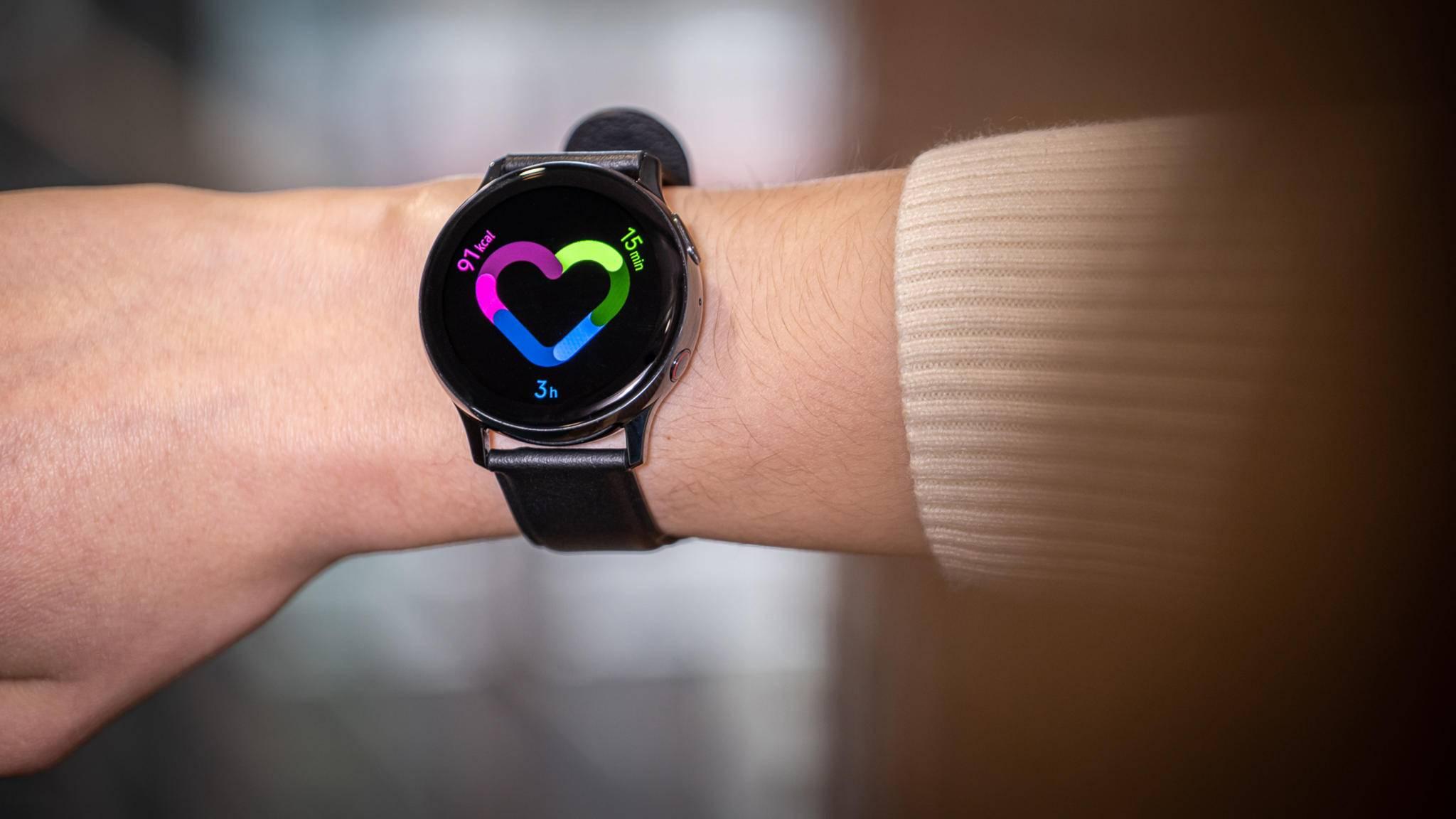 Upgrade auf eine neue Smartwatch ist nicht nötig: Samsung stattet die Galaxy Watch Active 2 mit neuen Features aus.