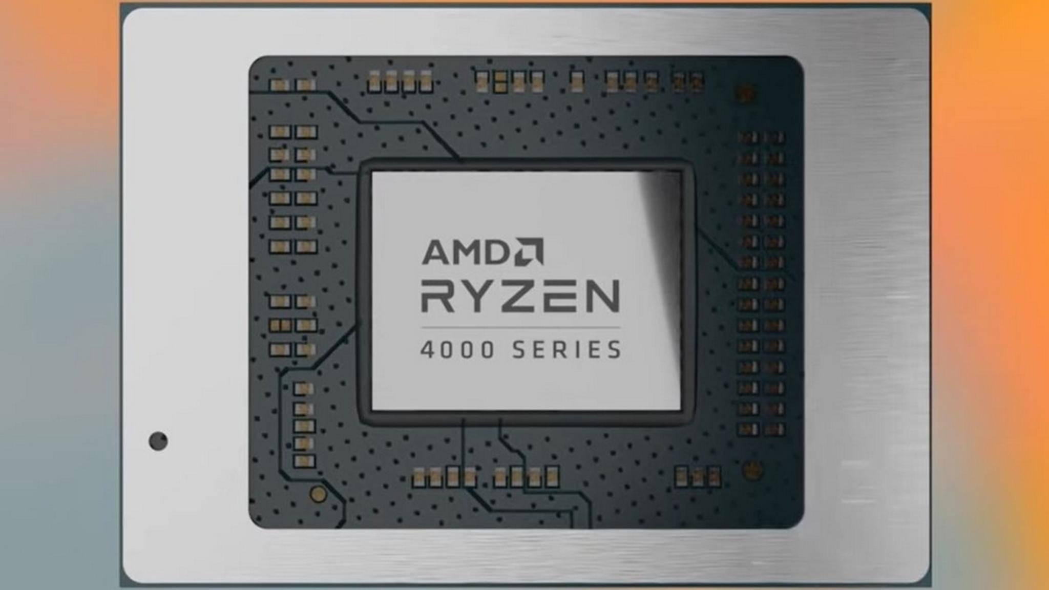 Die Ryzen-4000-Prozessoren könnten den Laptop-Markt ordentlich aufmischen.