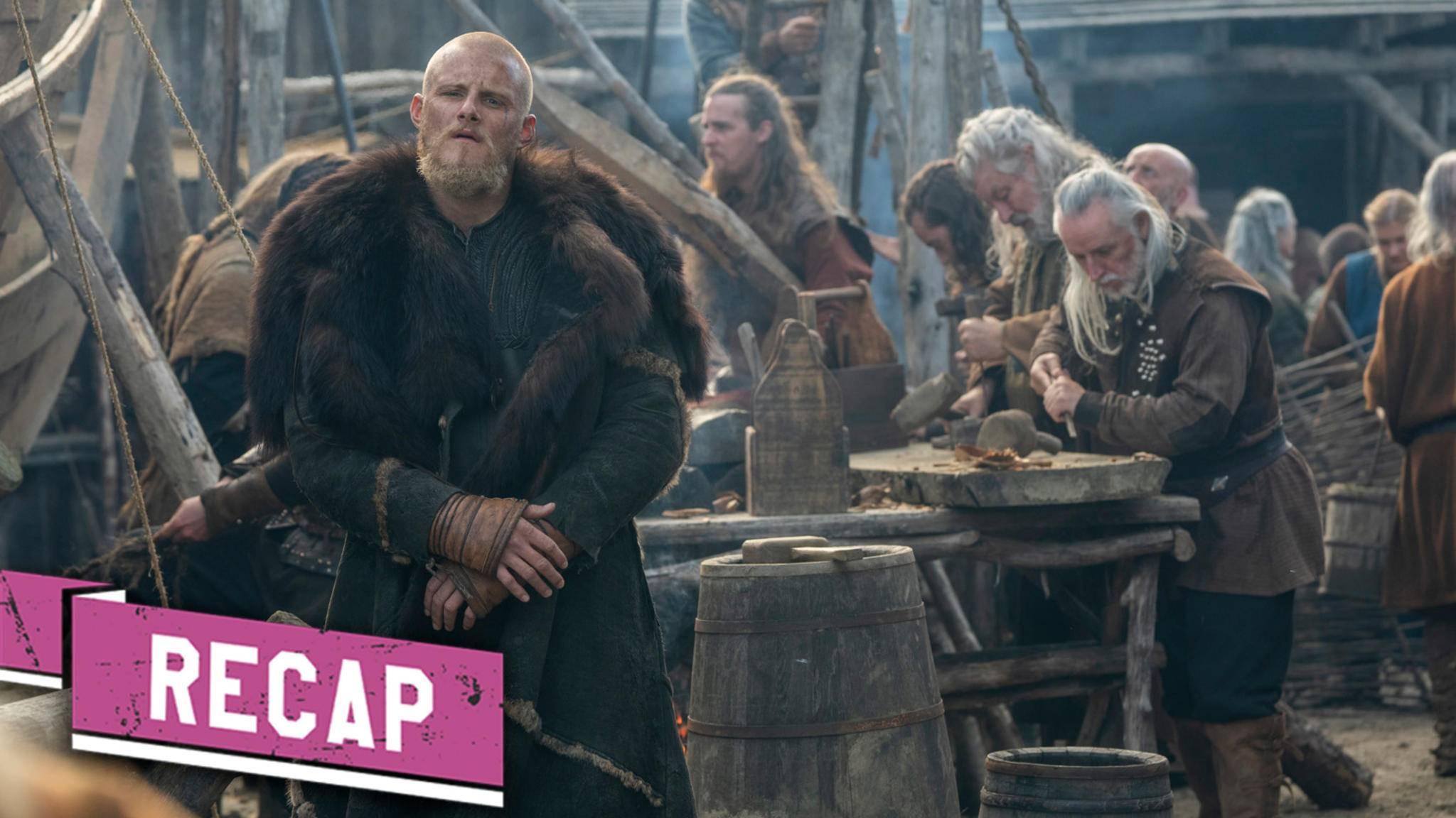 Bjorn in Vikings Staffel 6 Recap