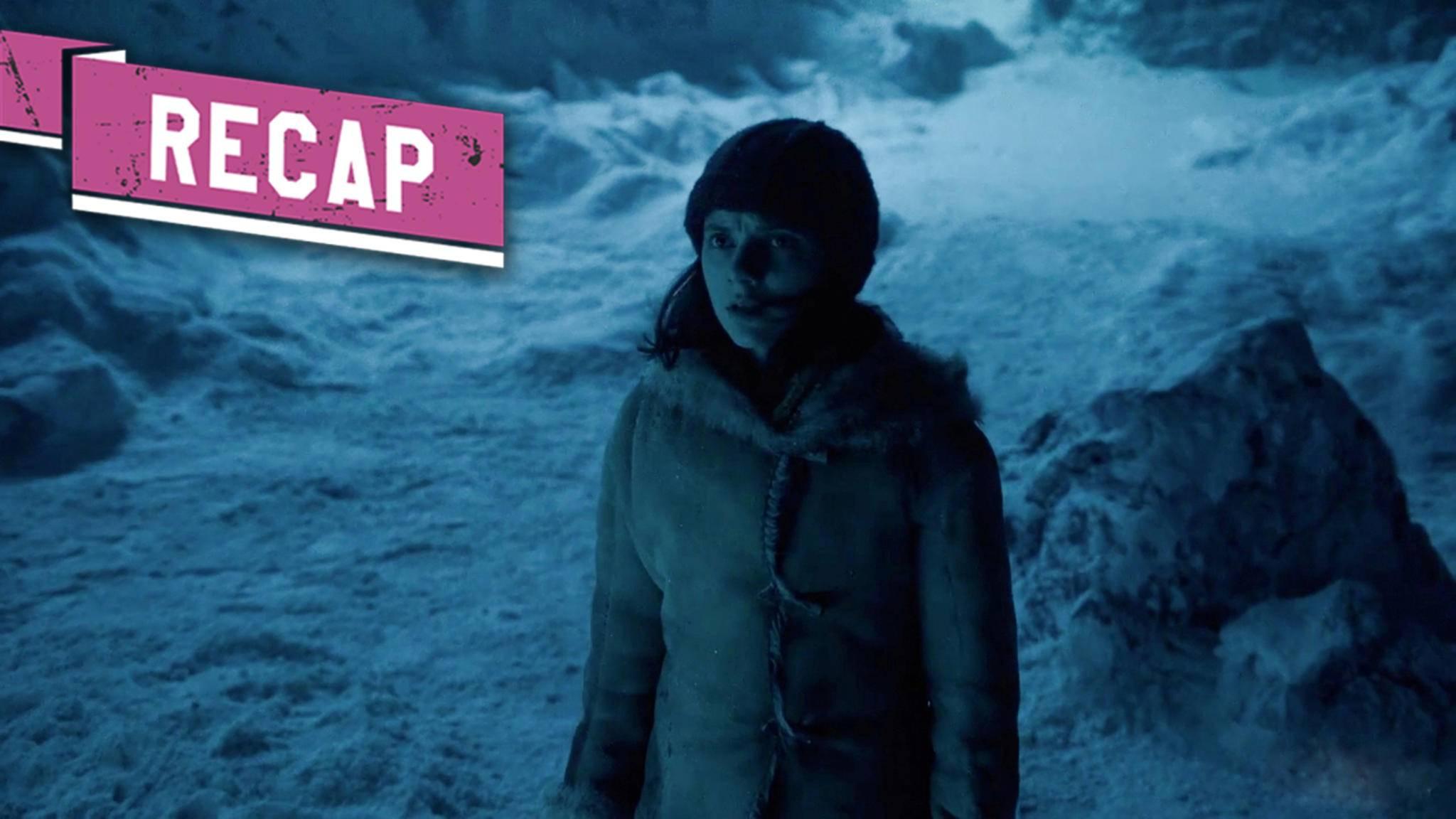 His Dark Materials Dafne Keen als Lyra in Episode 8 von Staffel 1