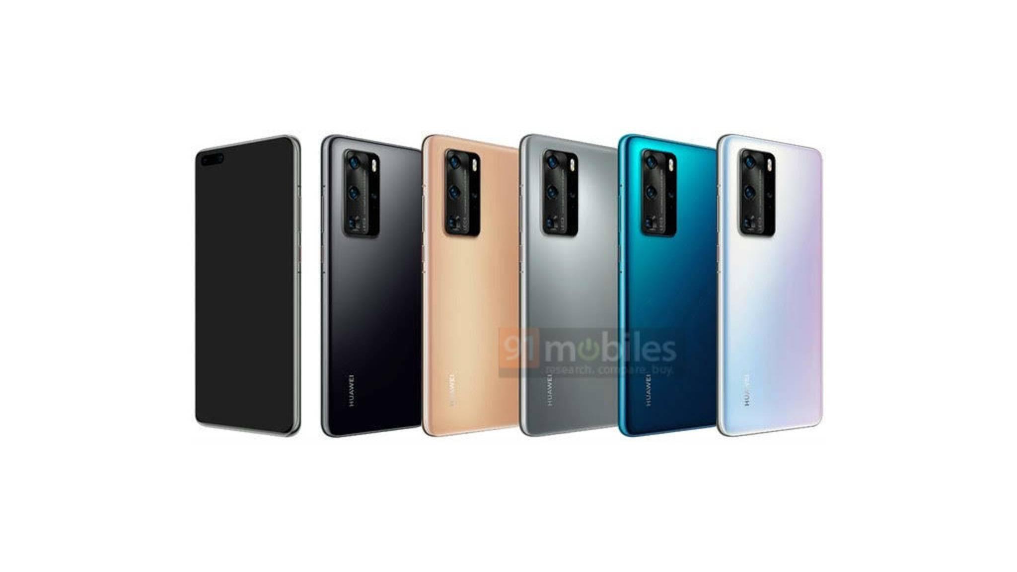 Huawei-P40-Pro-Renderbilder