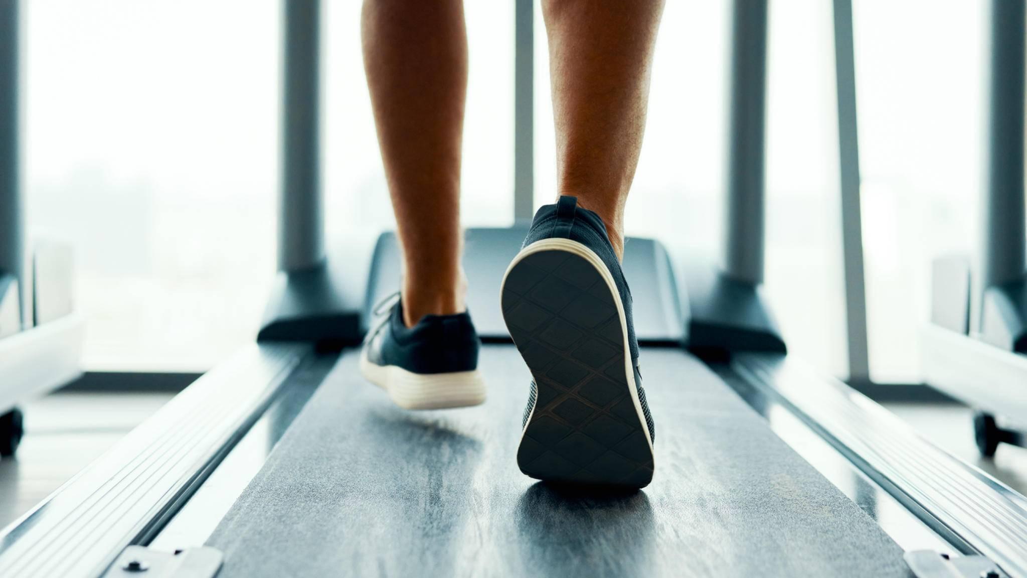 Laufband Beine