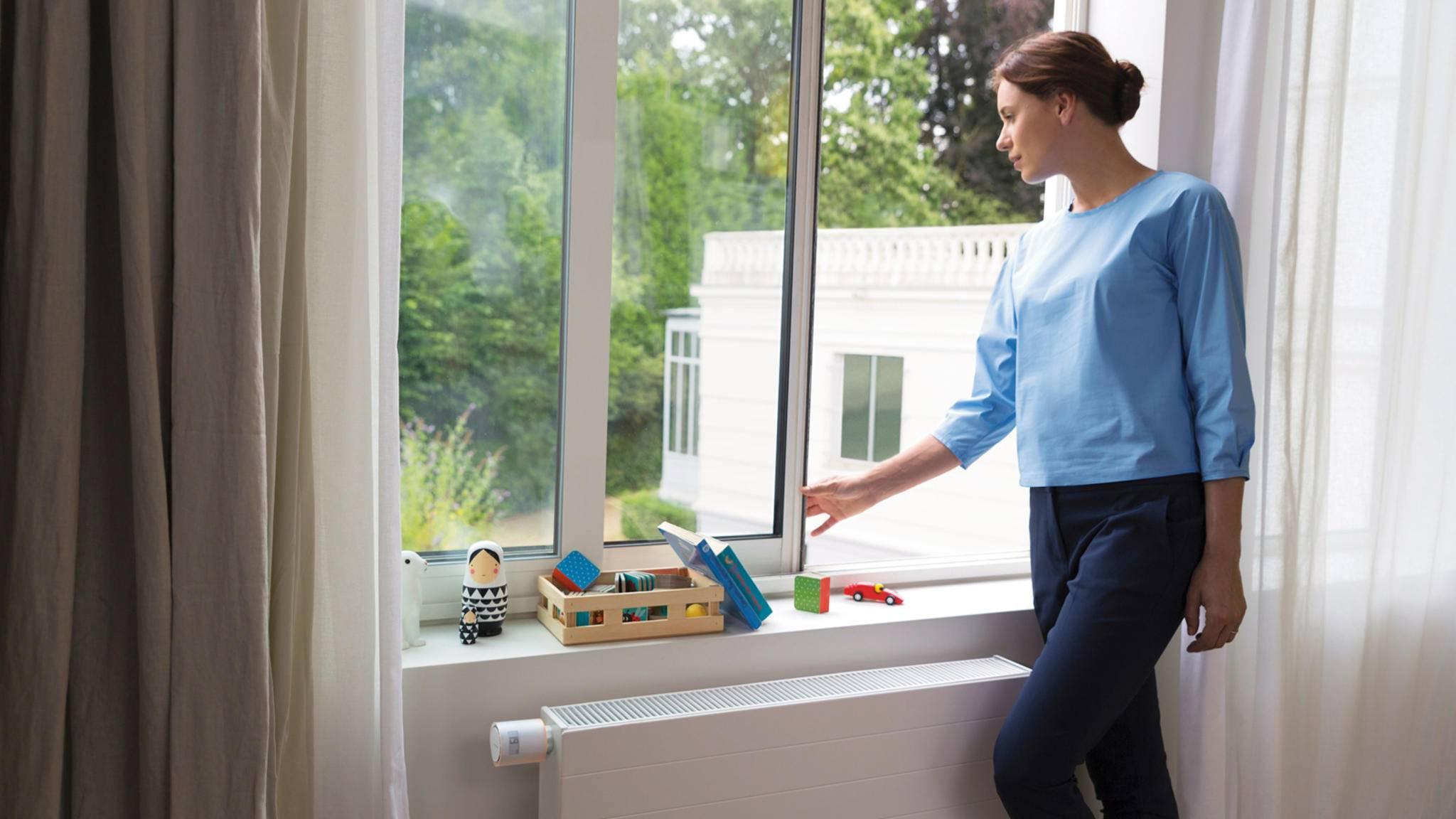 Netatmo Heizkörperthermostat erkennt offene Fenster